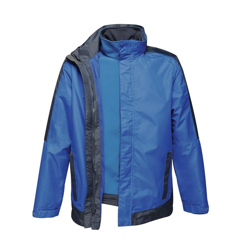 Regatta Mens Contrast 3-In-1 Jacket (L) (New Royal Blue/Navy)
