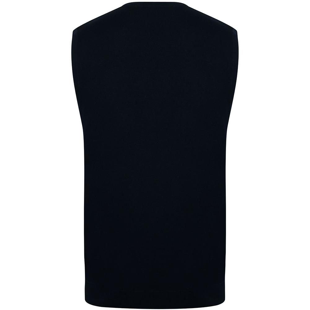 miniature 10 - Henbury - Pullover sans manches avec col en V - Homme (S-4XL) 2 (RW663)