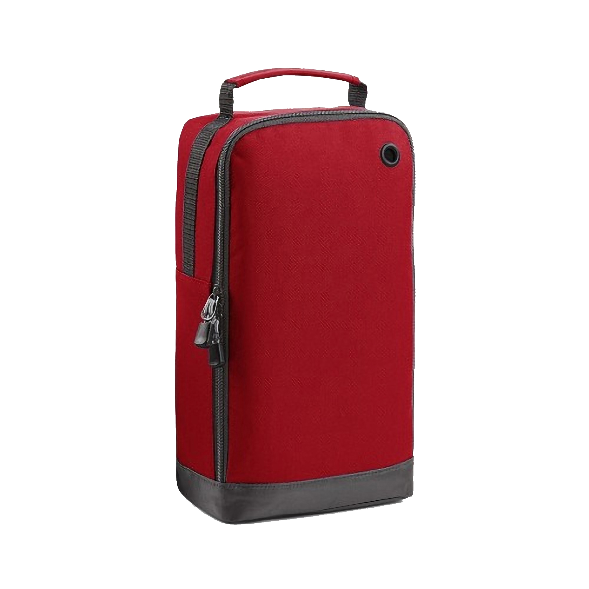 BagBase Sport Shoe / Accessory Bag (8 Litres) (Pack of 2) (One Size) (Classic Red)