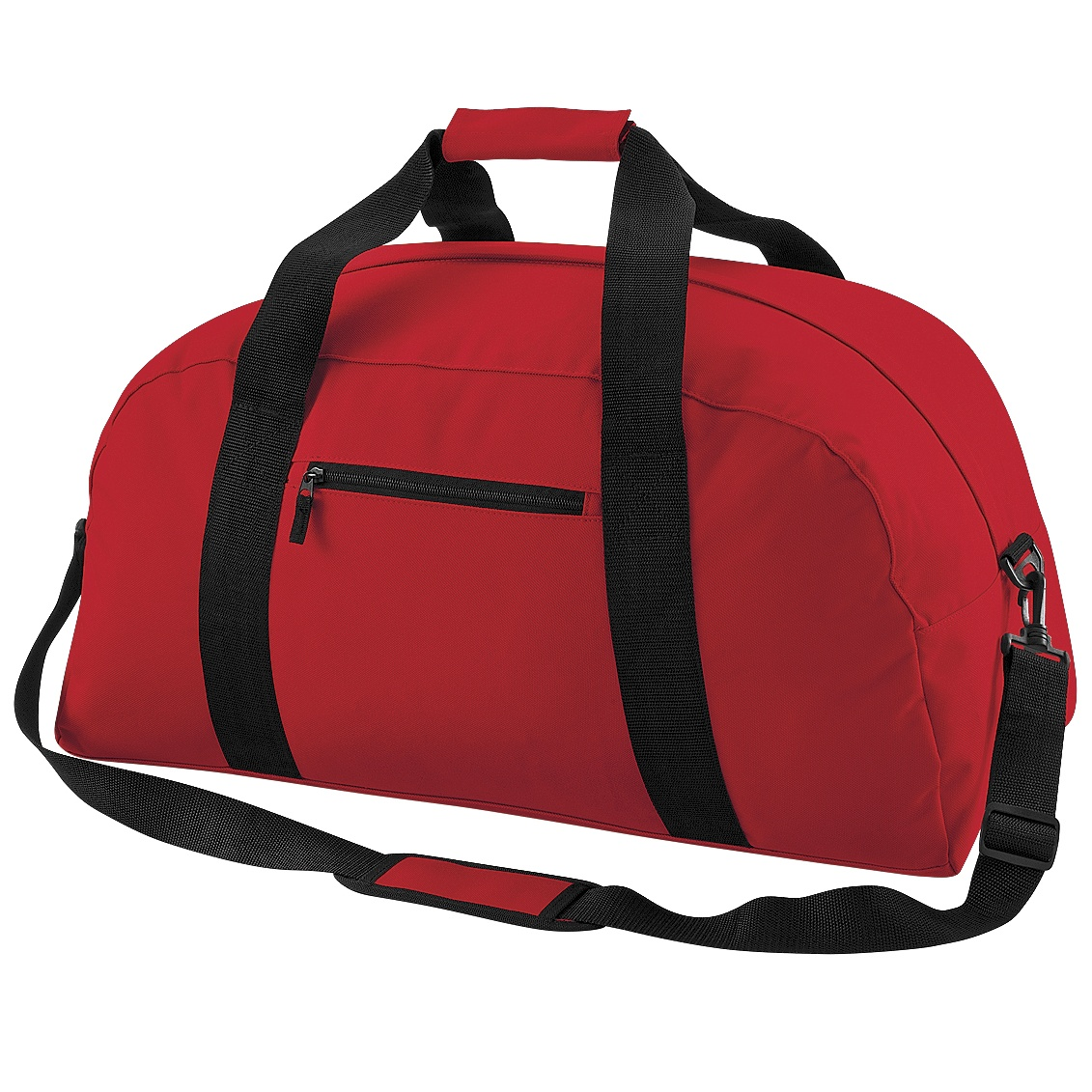 BagBase Classic Holdall / Duffle Travel Bag (Pack of 2) (One Size) (Classic Red)
