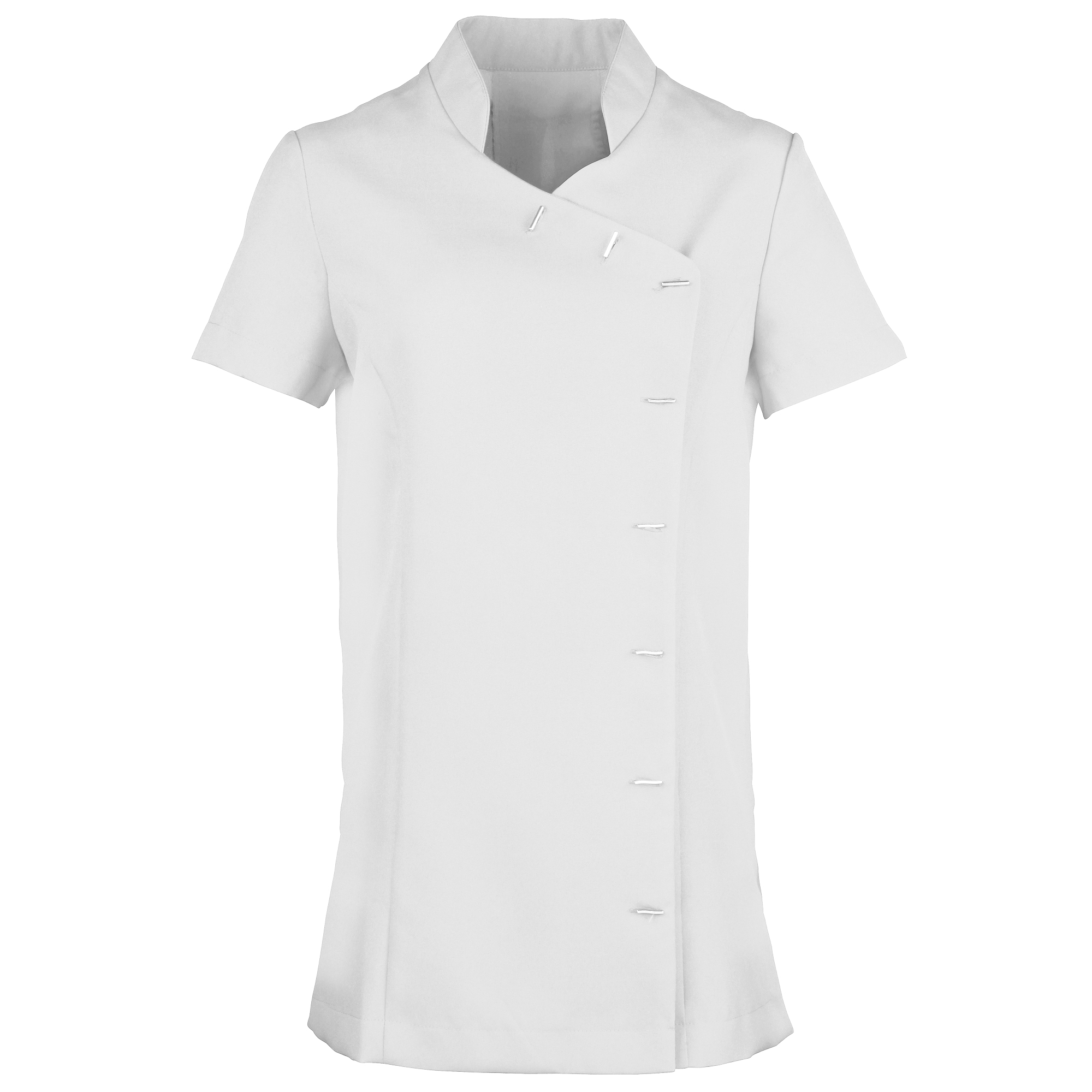 Premier Womens/Ladies *Orchid* Tunic / Health Beauty & Spa / Workwear (Pack of 2) (20) (White)