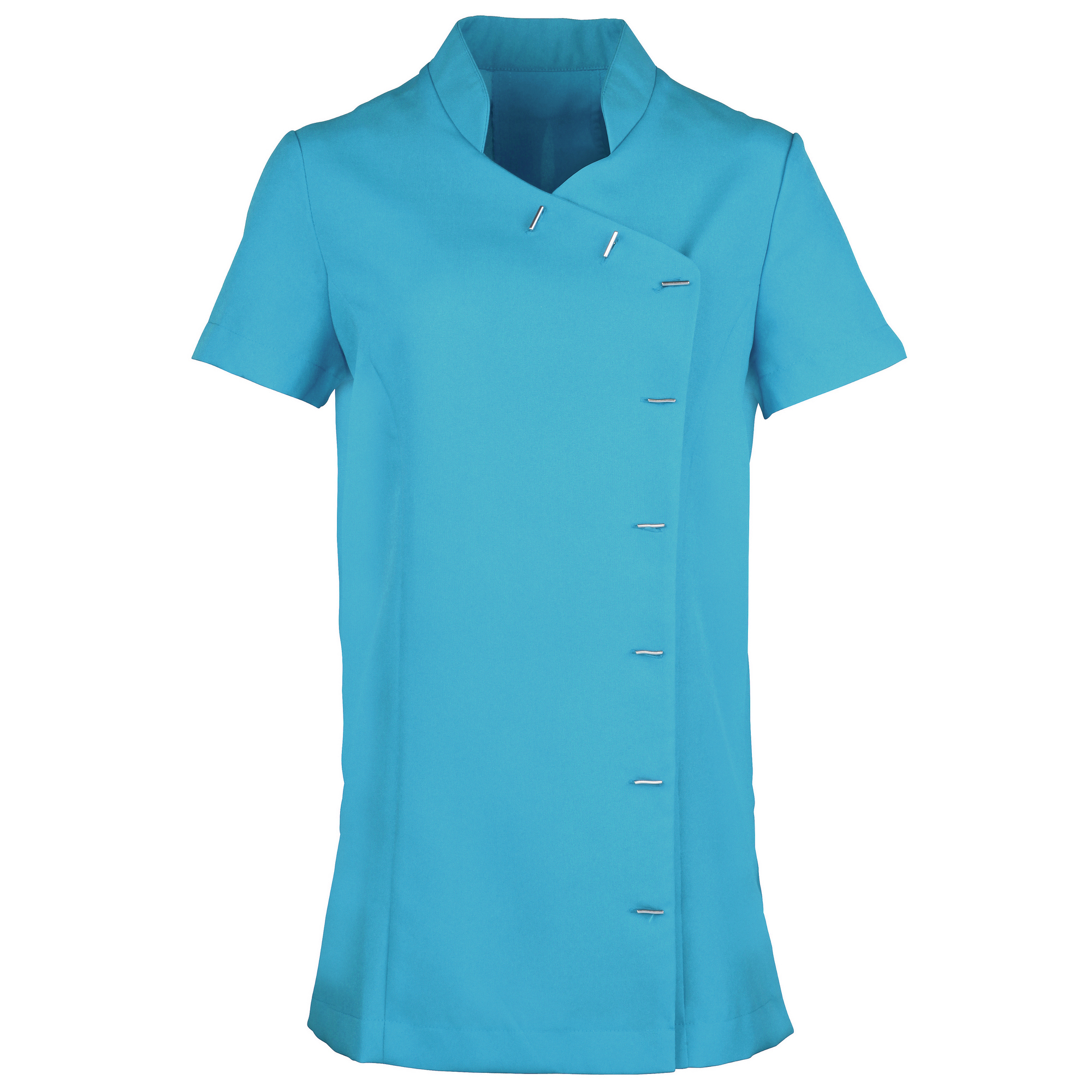 Premier Womens/Ladies *Orchid* Tunic / Health Beauty & Spa / Workwear (Pack of 2) (16) (Turquoise)