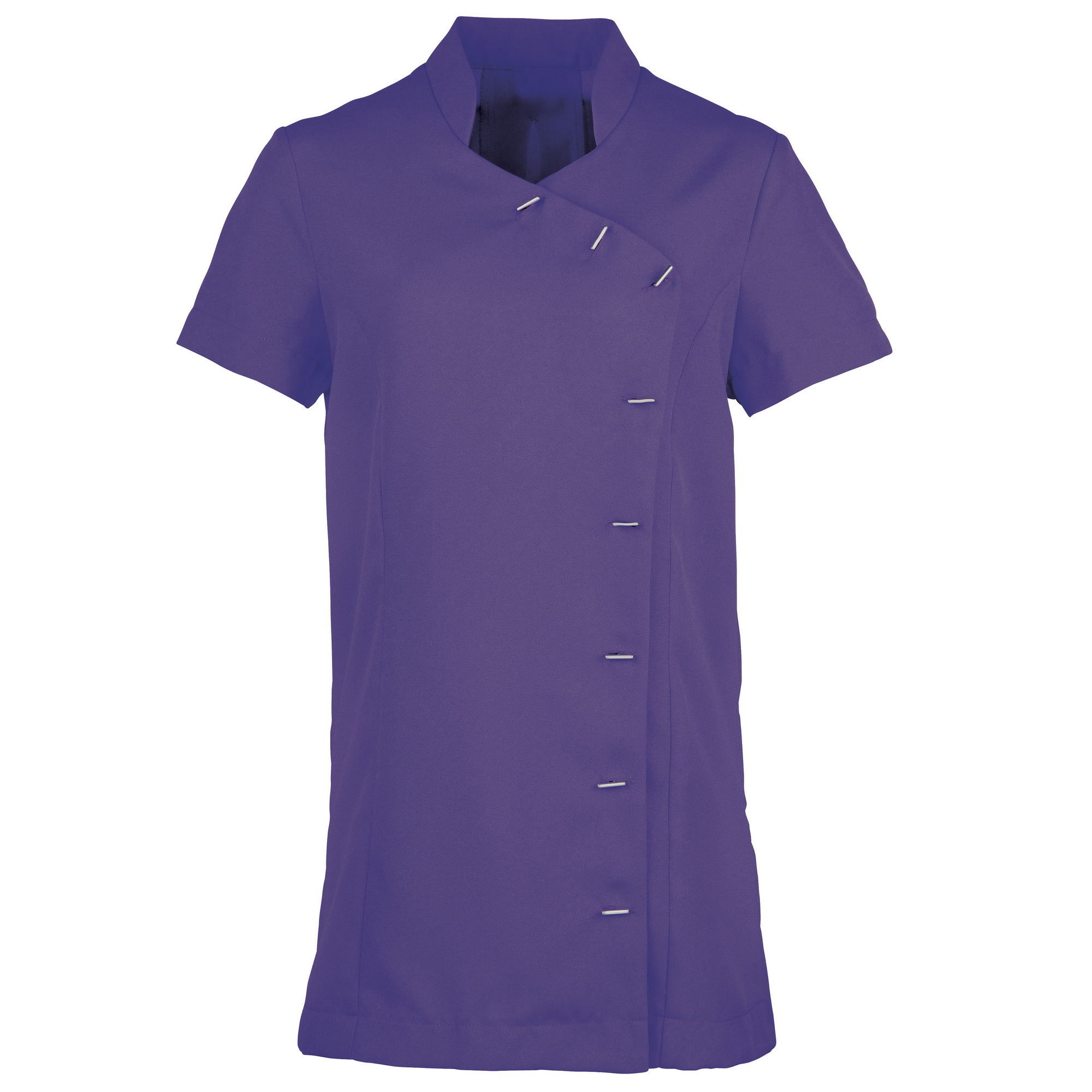 Premier Womens/Ladies *Orchid* Tunic / Health Beauty & Spa / Workwear (Pack of 2) (16) (Purple)