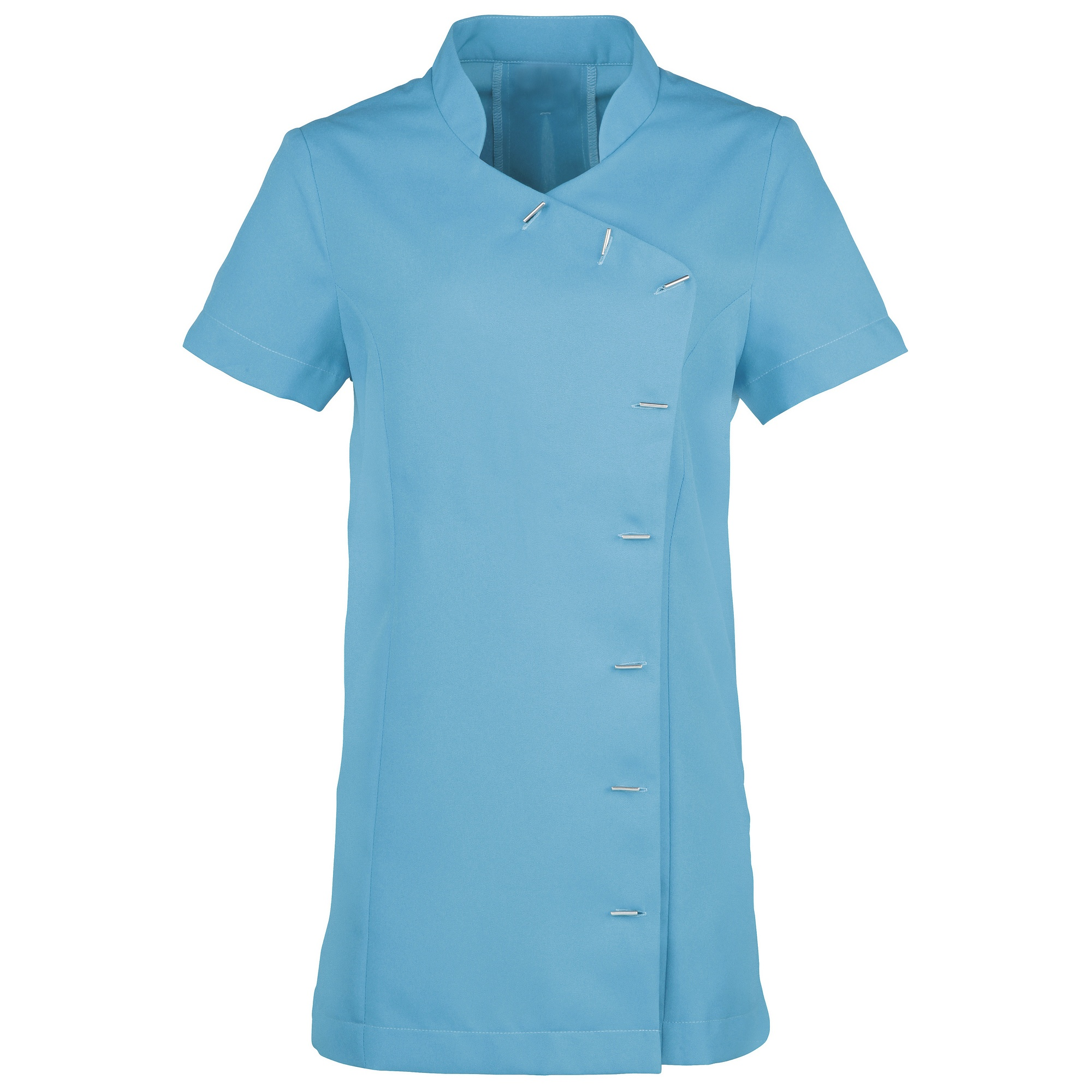 Premier Womens/Ladies *Orchid* Tunic / Health Beauty & Spa / Workwear (Pack of 2) (8) (Sapphire)