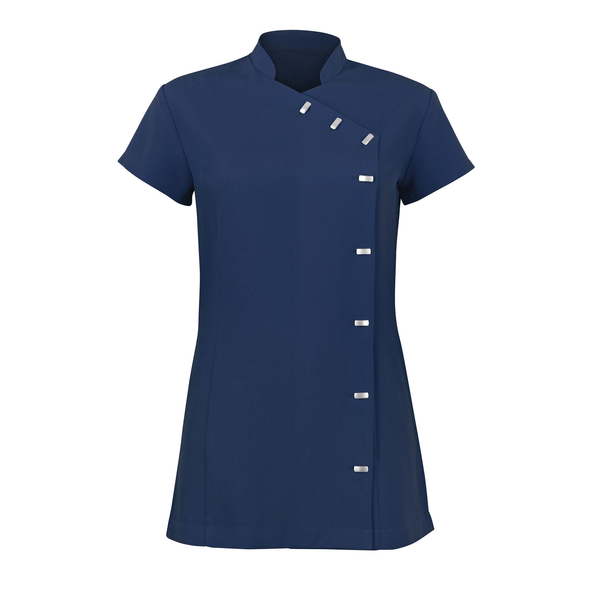 Alexandra Womens Easycare Wrap Beauty Tunic / Health Beauty & Spa / Workwear (Pack of 2) (18) (Navy)
