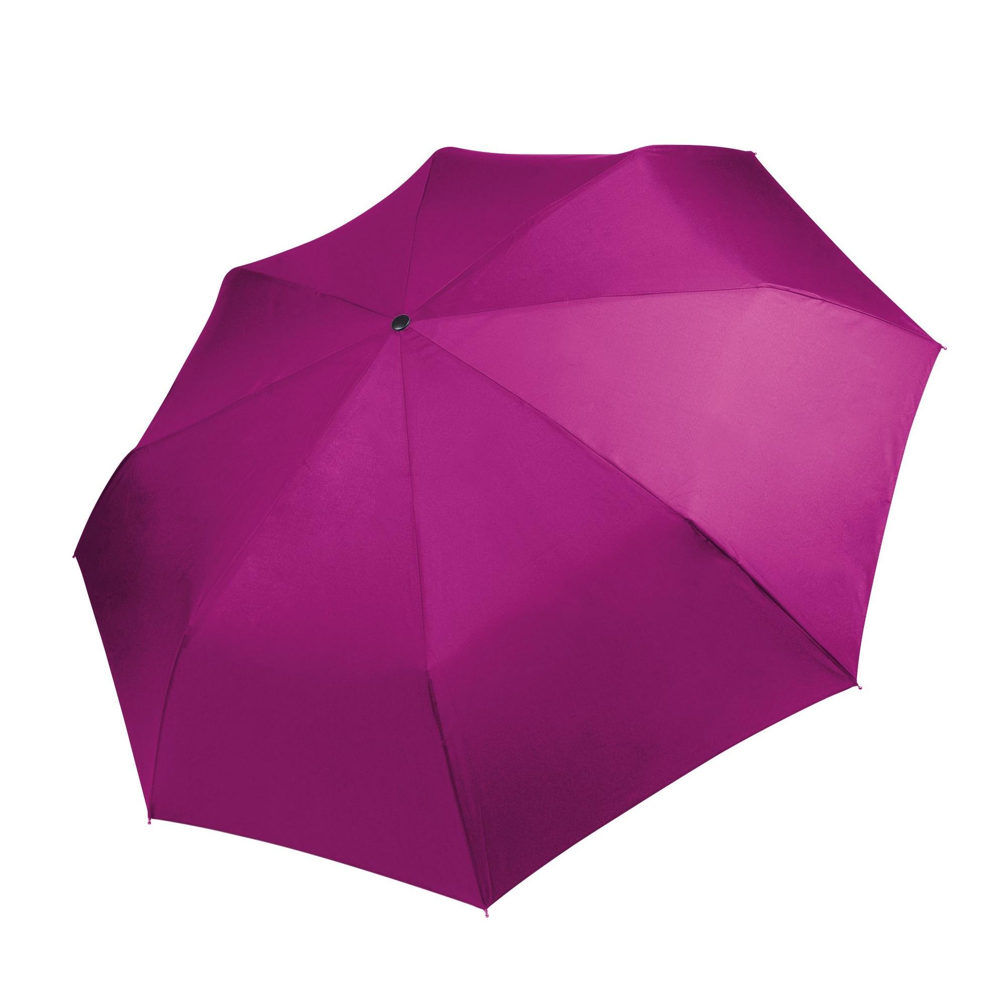 Kimood Foldable Handbag Umbrella (Pack of 2) (One Size) (Fuchsia)