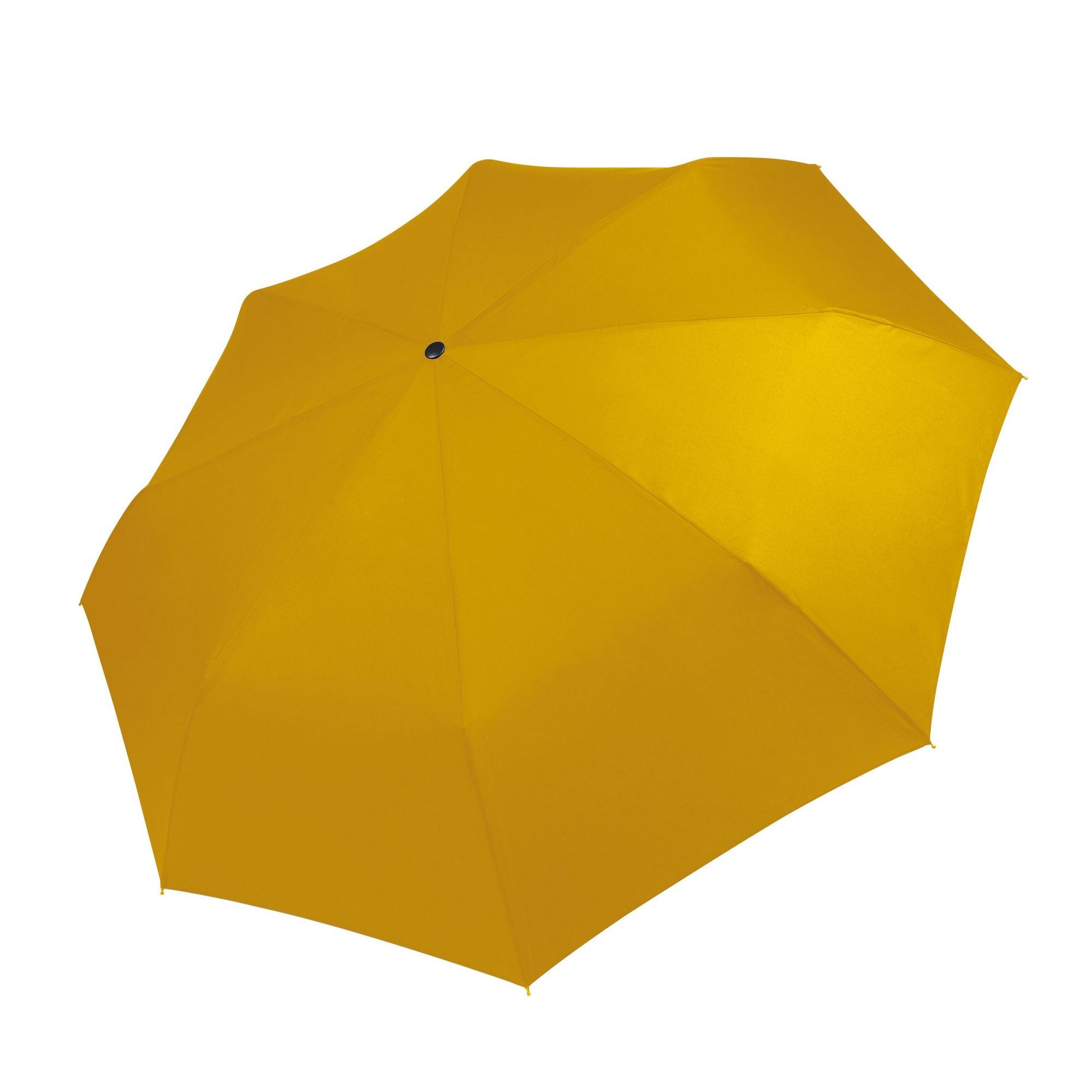 Kimood Foldable Handbag Umbrella (Pack of 2) (One Size) (True Yellow)