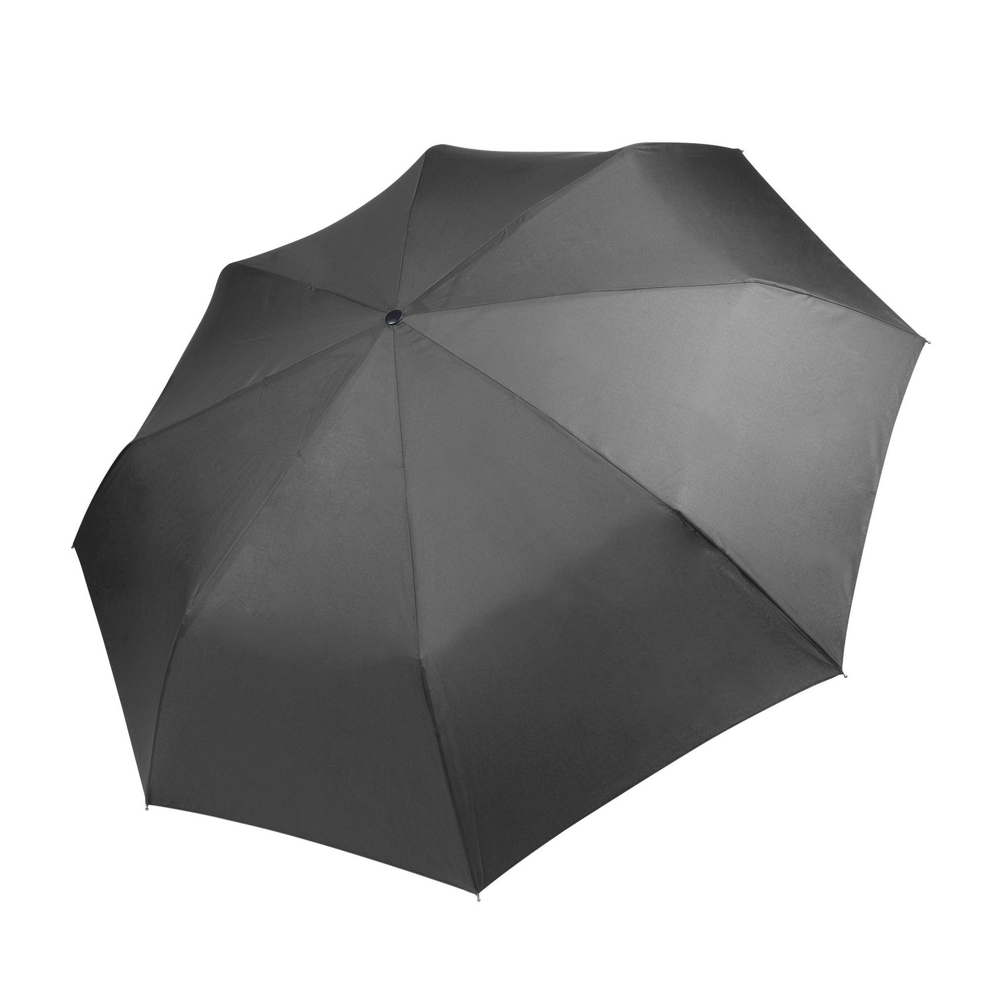Kimood Foldable Handbag Umbrella (Pack of 2) (One Size) (Dark Grey)