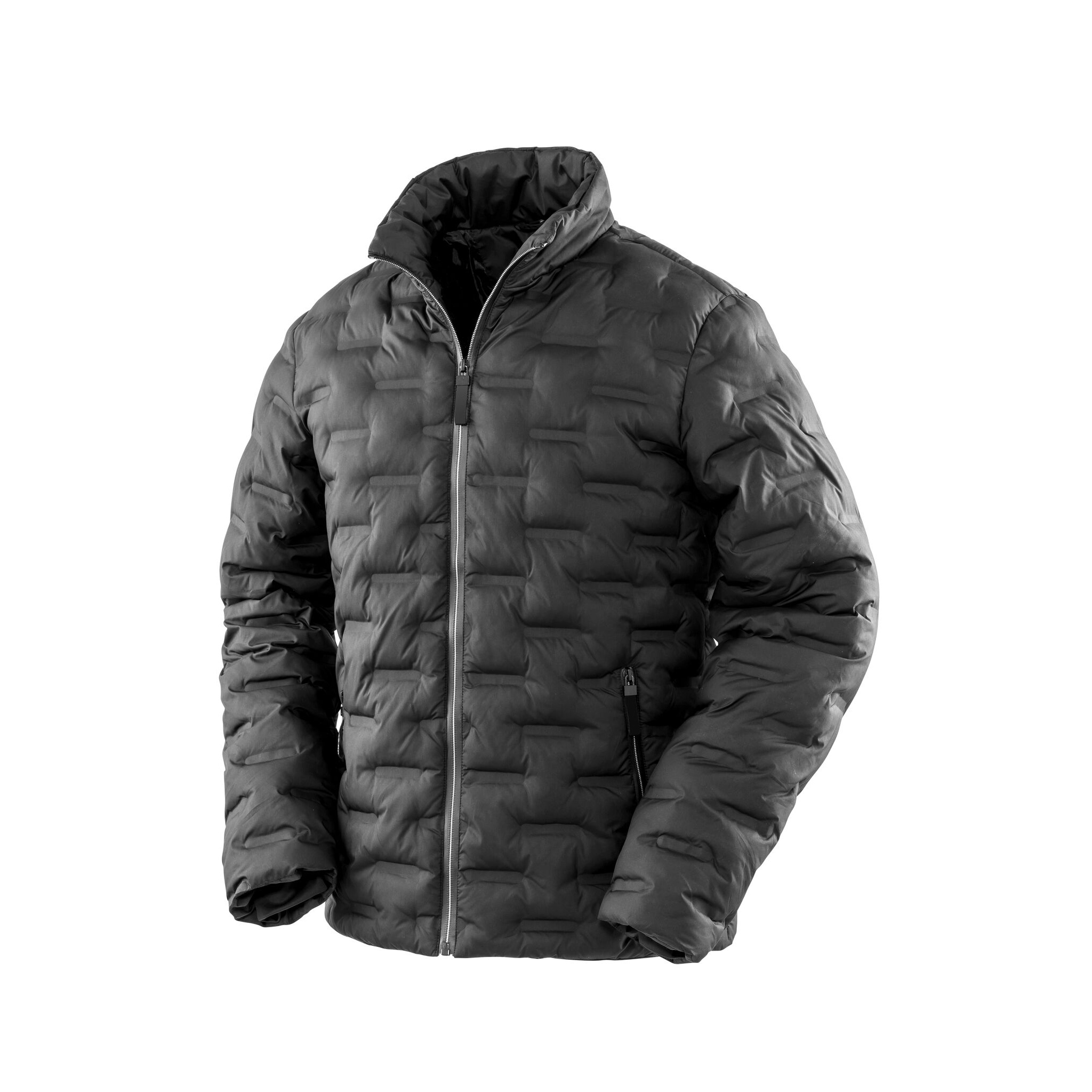 Result Urban Outdoor Mens Ultrasonic Rib Coat (3XL) (Black)