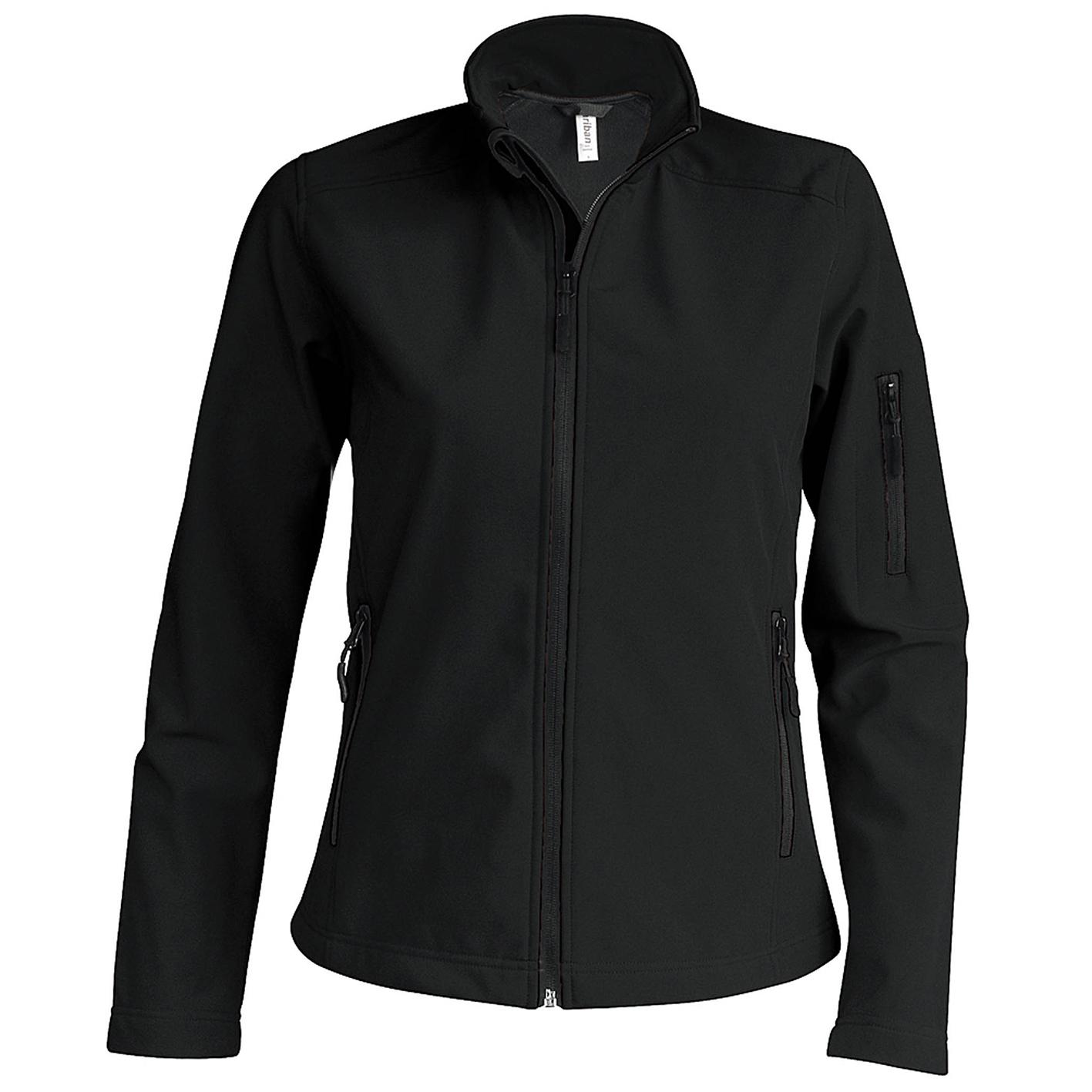 Kariban Womens/Ladies Contemporary Softshell 3 Layer Performance Jacket (M) (Black)