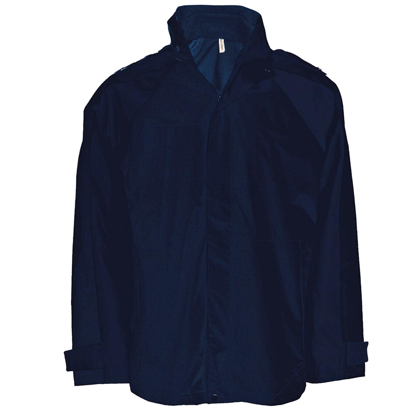 Kariban Mens 3-in-1 Waterproof Performance Jacket (2XL) (Navy)