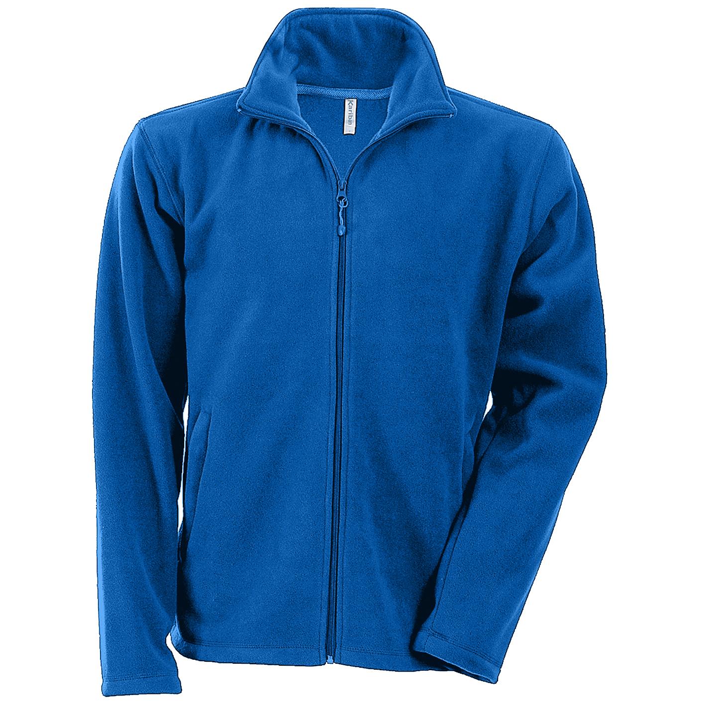 Kariban Mens Falco Full Zip Anti Pill Fleece Jacket (XL) (Royal)