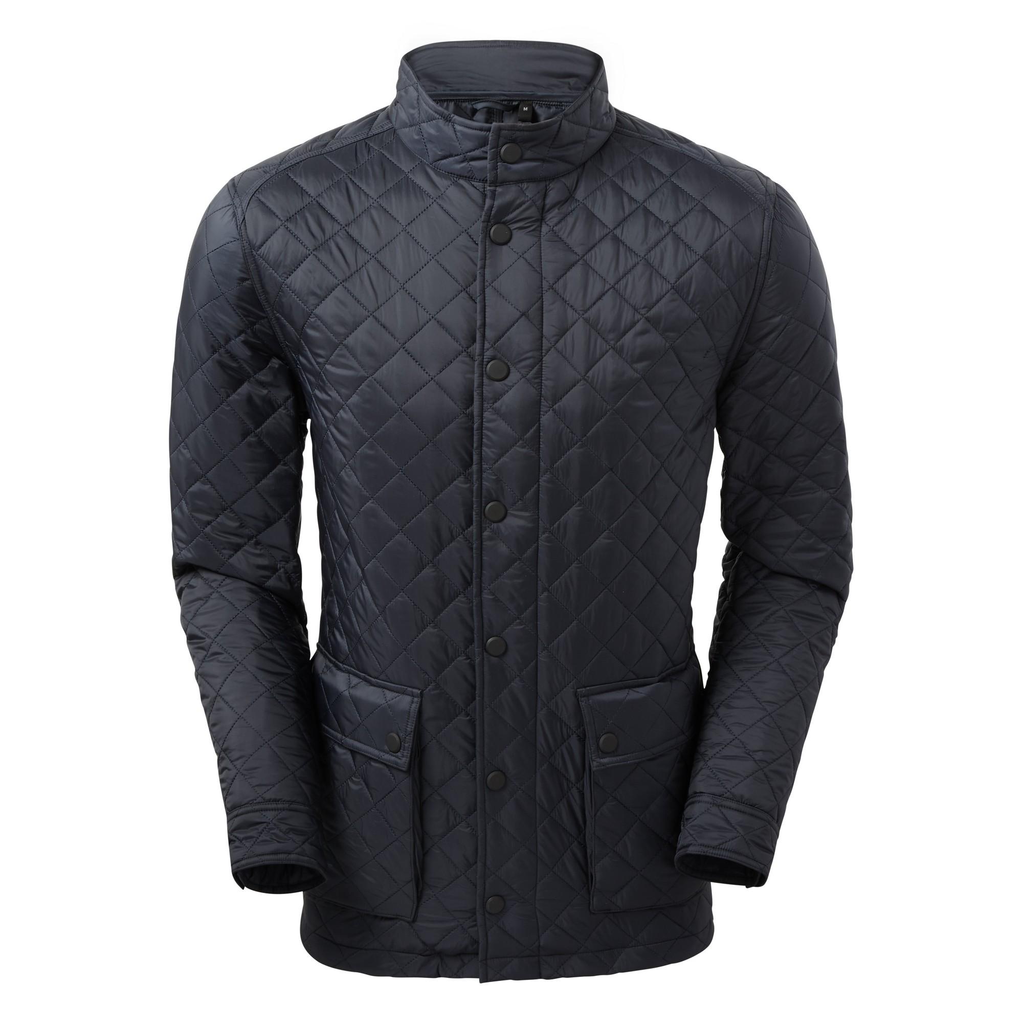2786 Mens Quartic Quilt Jacket (3XL) (Navy)