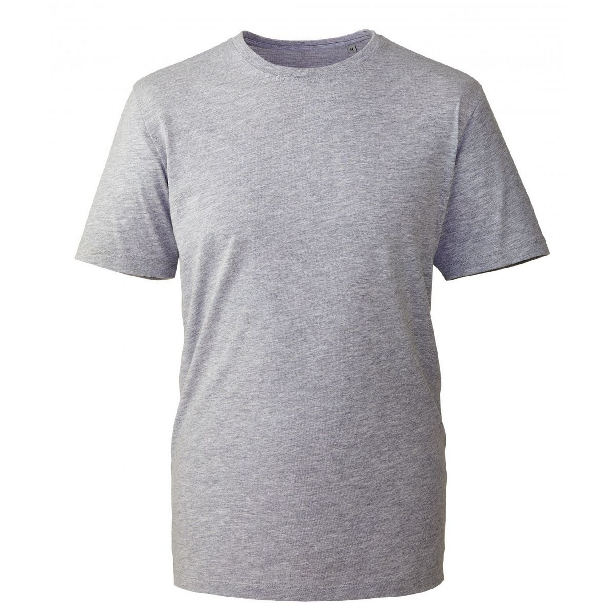 Anthem Mens Short Sleeve T-Shirt (5XL) (Grey Marl)