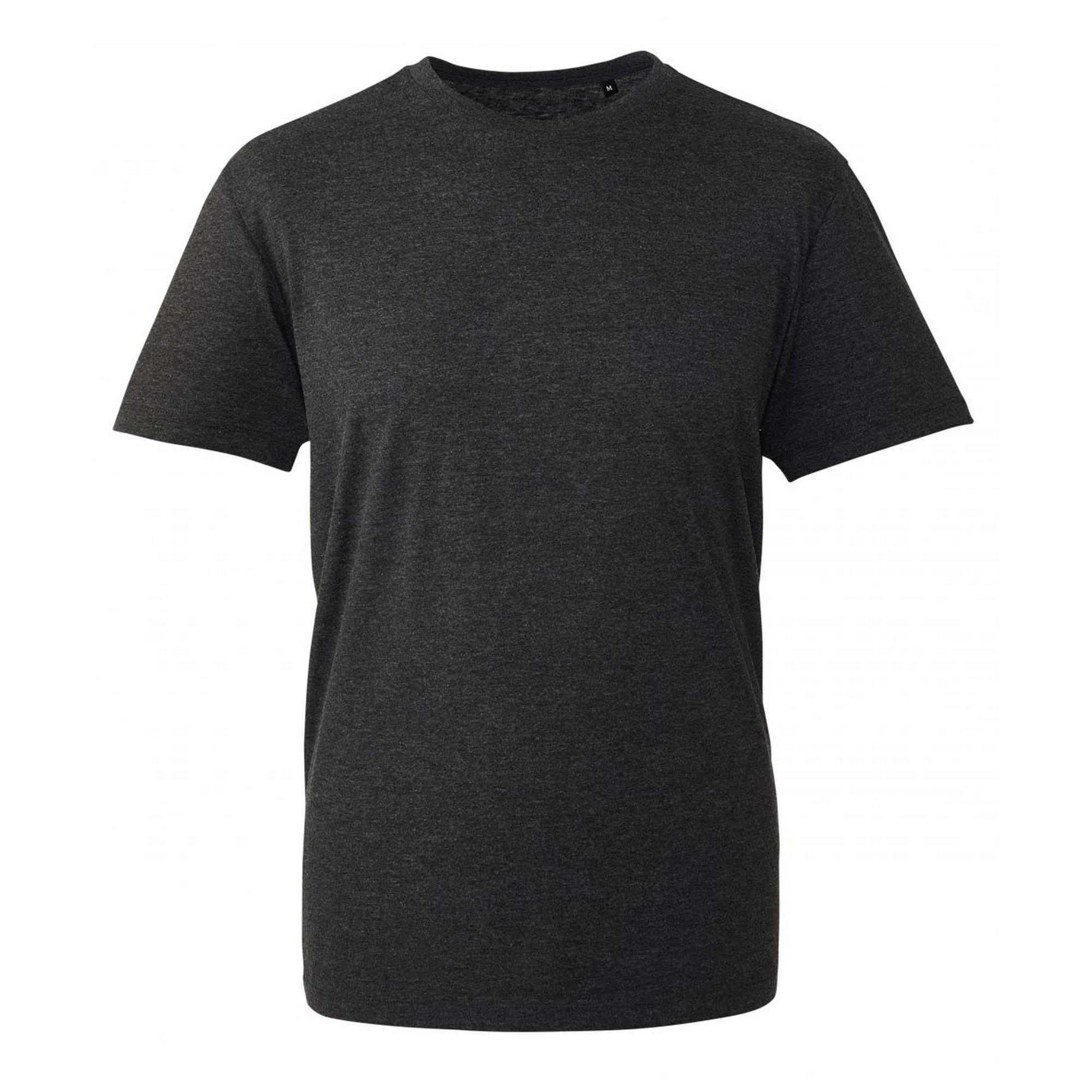 Anthem Mens Short Sleeve T-Shirt (L) (Black Marl)