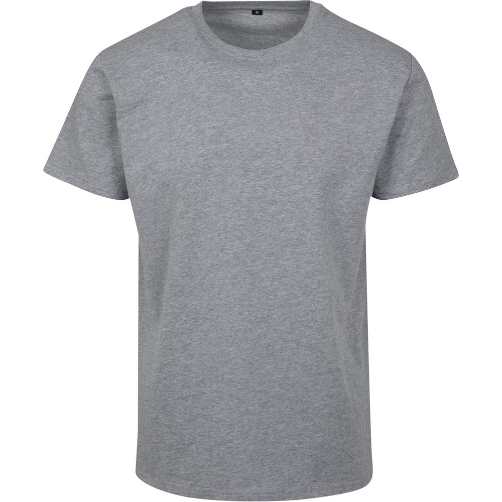 Build Your Brand Mens Basic T-Shirt (XS) (Heather Grey)