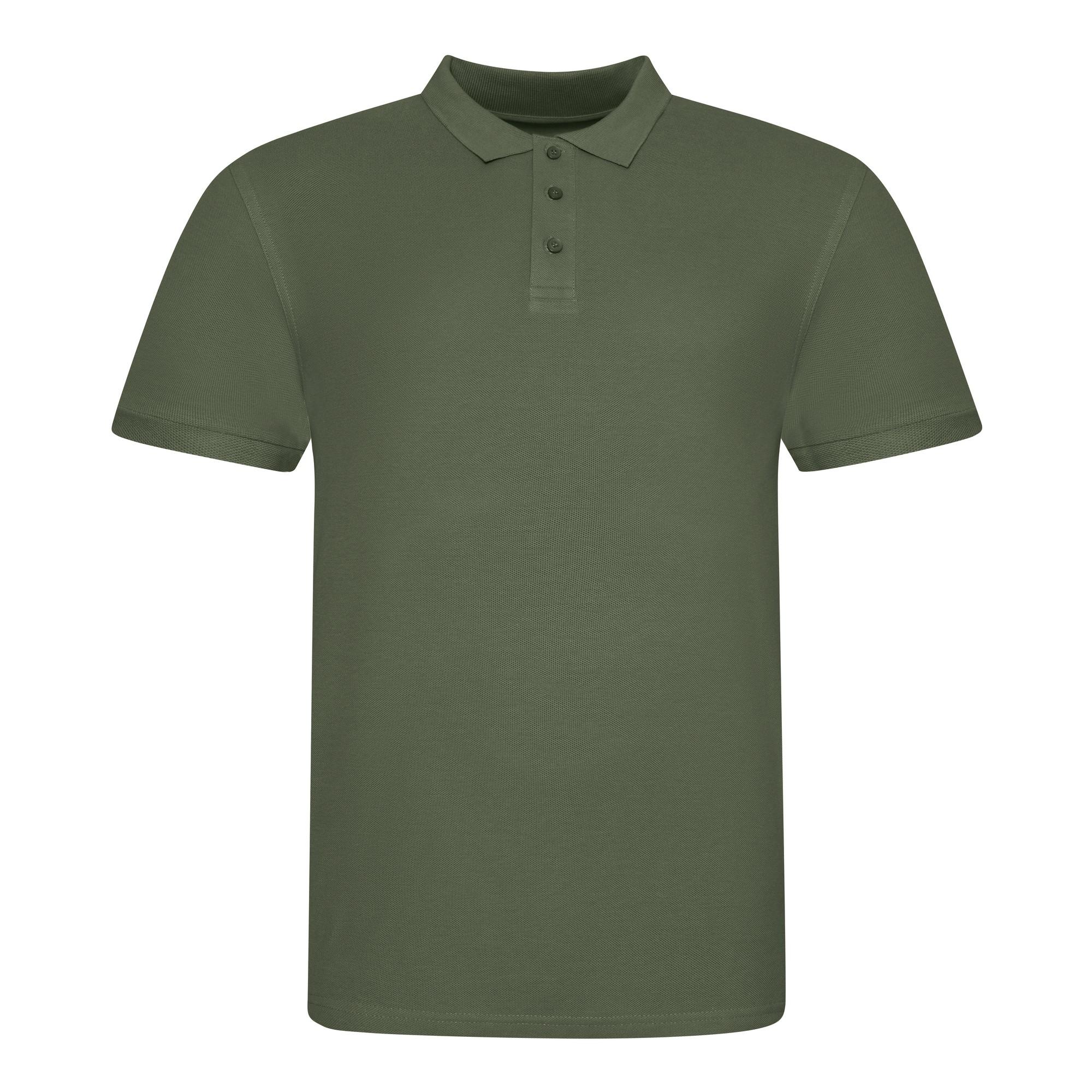 AWDis Just Polos Mens The 100 Polo Shirt (3XL) (Earthy Green)
