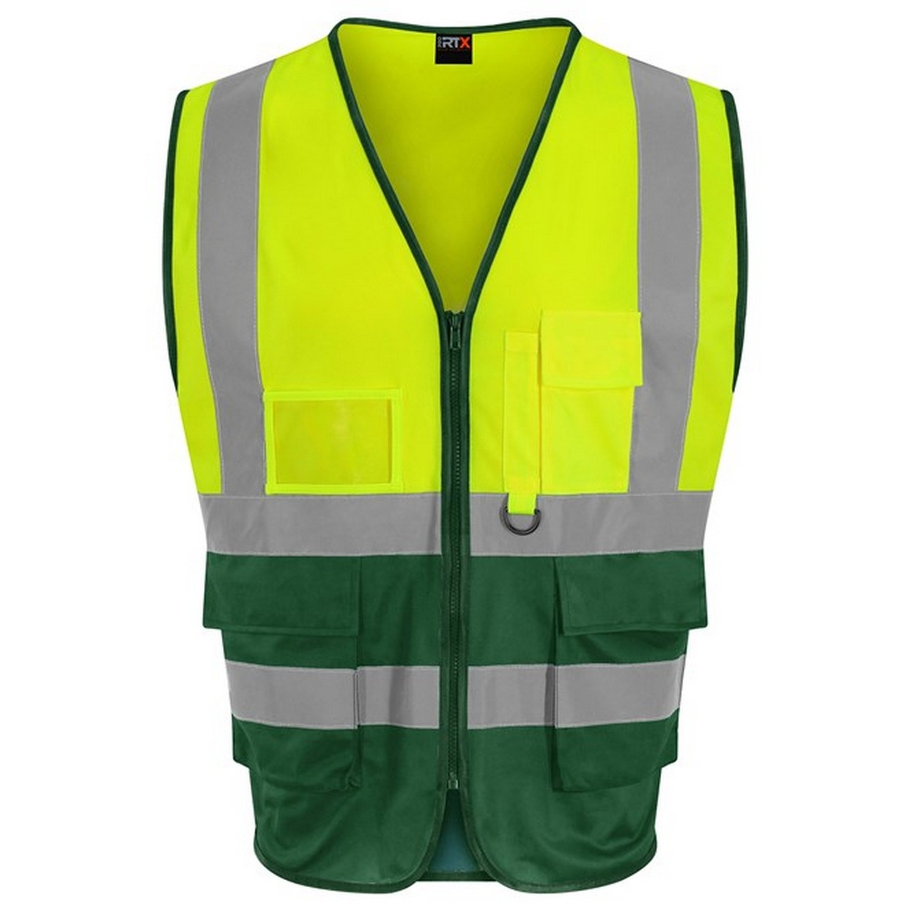 Pro RTX High Visibility Unisex Adults Executive Waistcoat (M) (Hi Vis Yellow/Paramedic Green)