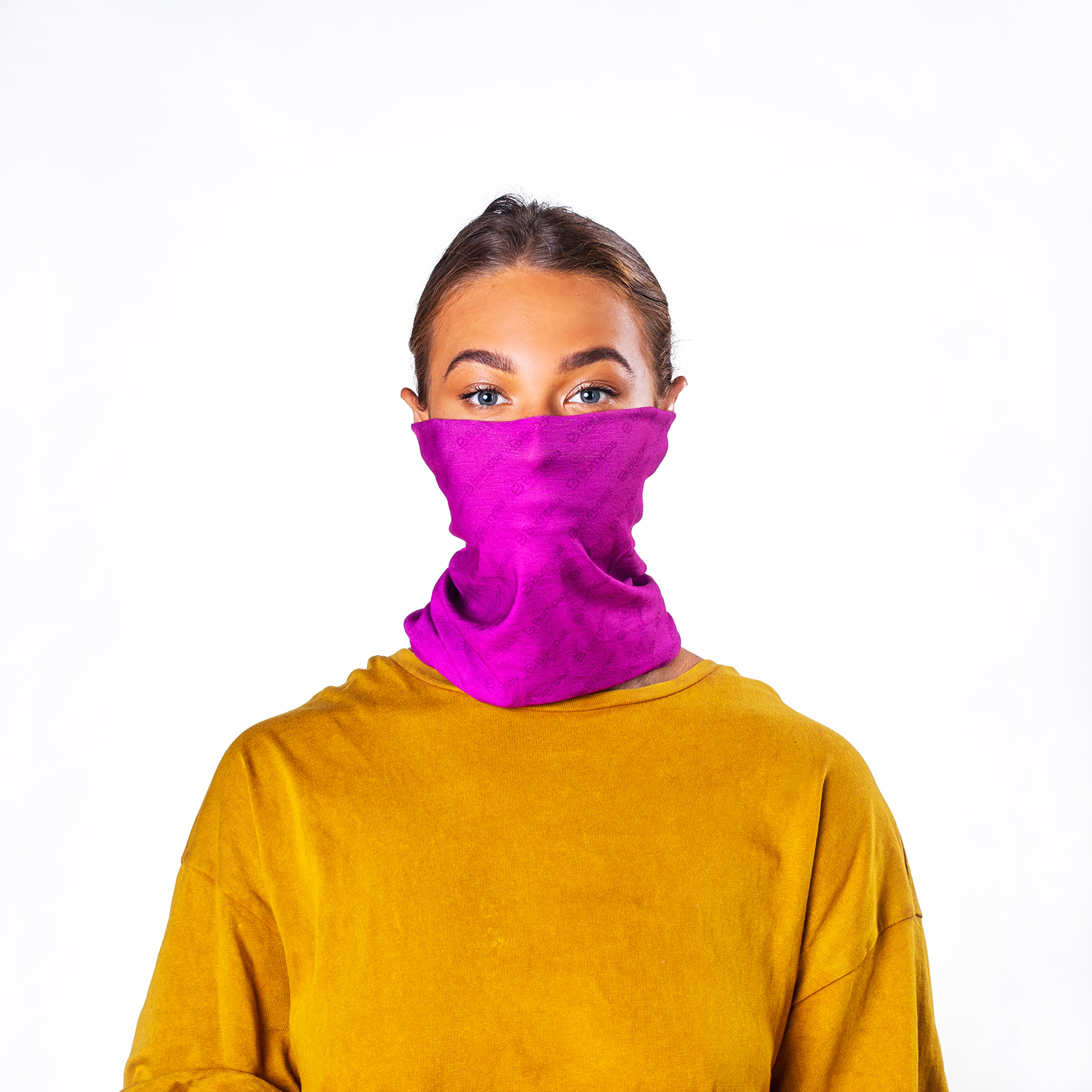 Bumpaa Unisex Adult Snood (Pack of 3) (One Size) (Fuchsia)