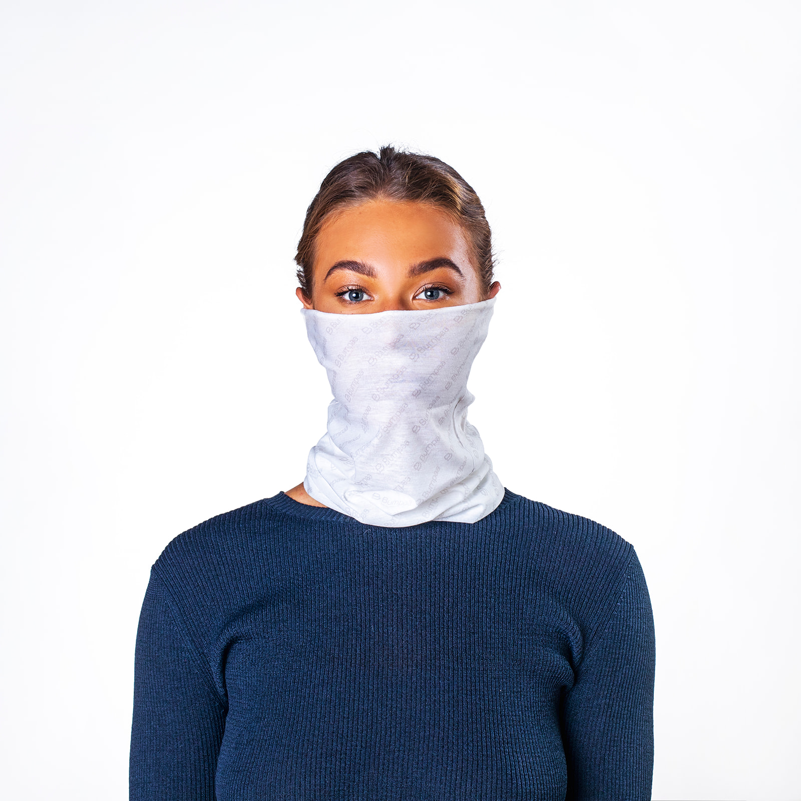 Bumpaa Unisex Adult Snood (Pack of 3) (One Size) (White)