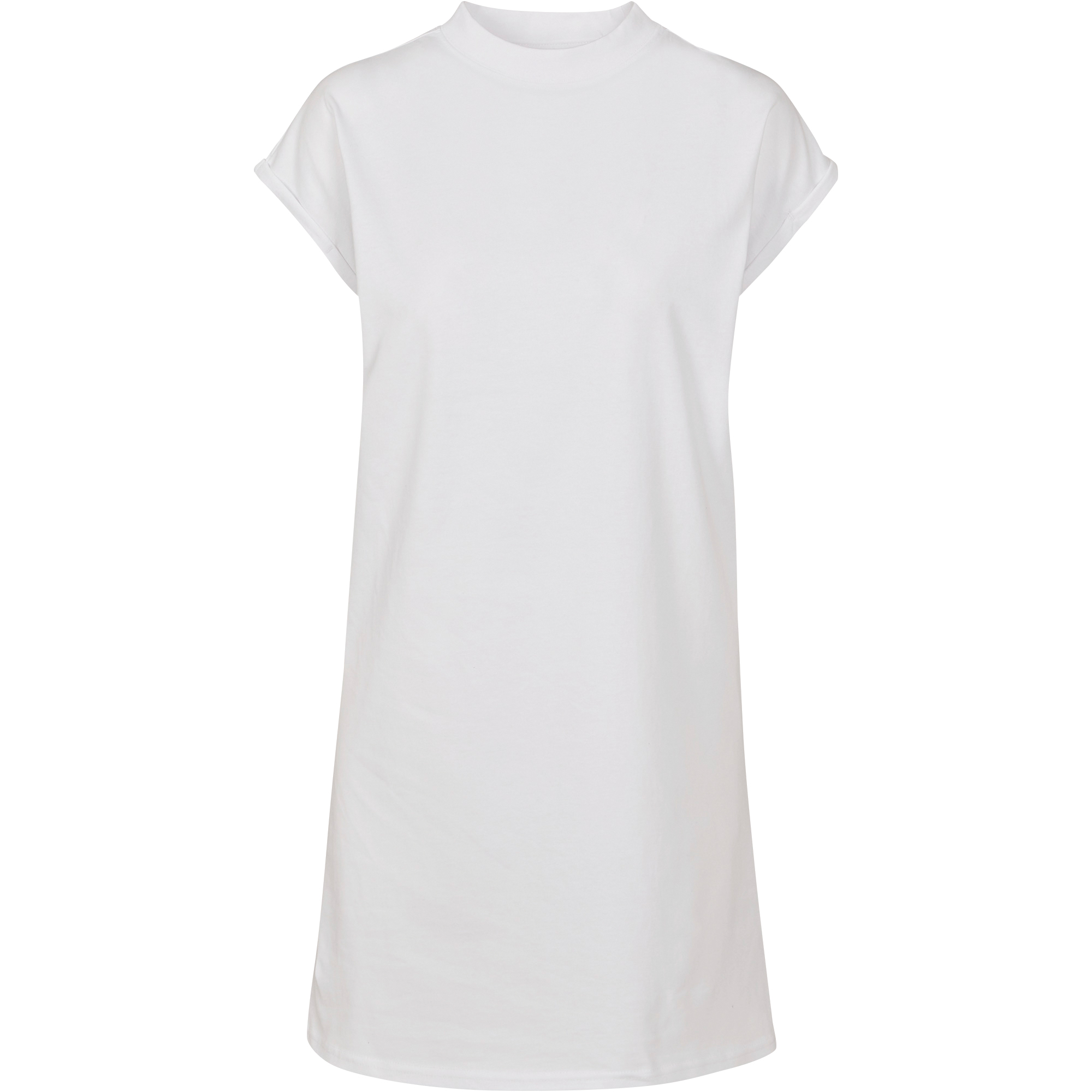 Build Your Brand Womens/Ladies Casual Dress (XS) (White)