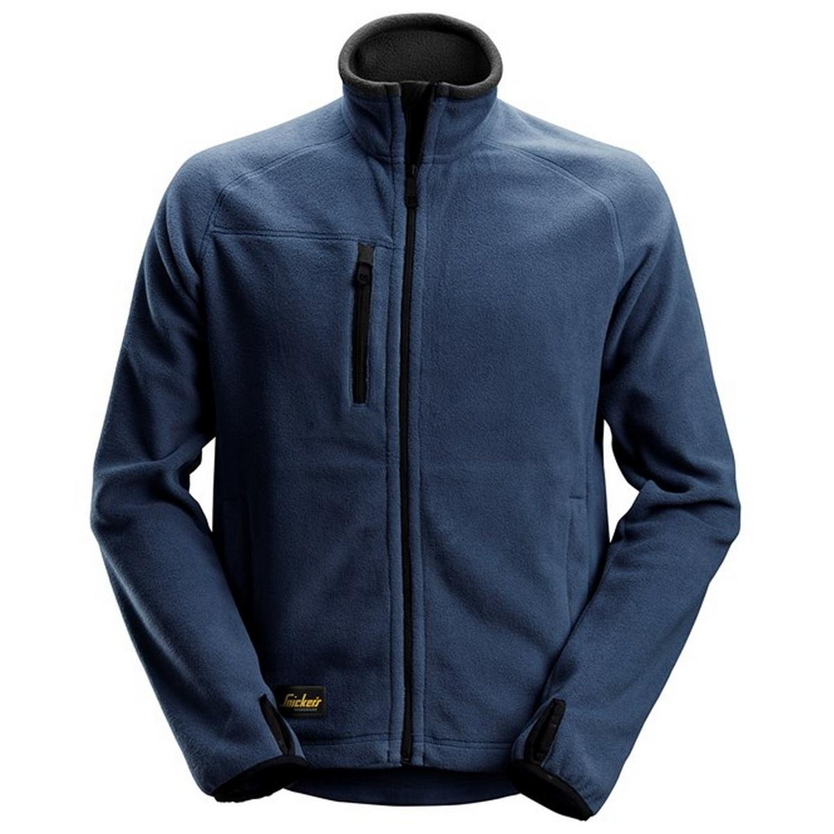 Snickers Mens Fleece Jacket (S) (Navy)