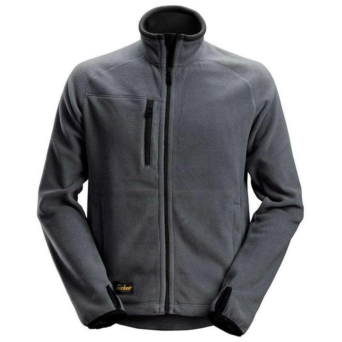 Snickers Mens Fleece Jacket (M) (Steel Grey)