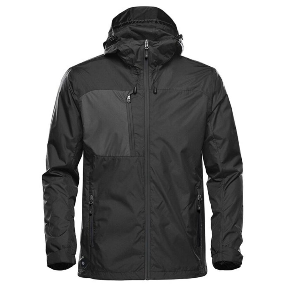 Stormtech Mens Olympia Shell Jacket (M) (Black/Granite)