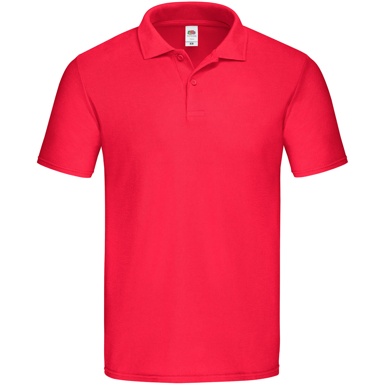Fruit of the Loom Mens Original Polo Shirt (3XL) (Red)