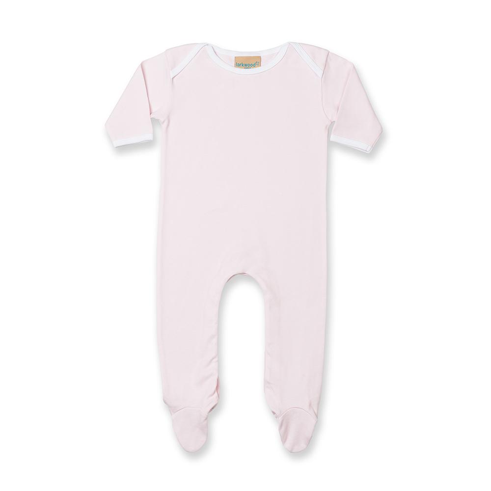 Larkwood-Pijama-de-manga-larga-en-contraste-unisex-para-bebe-RW798