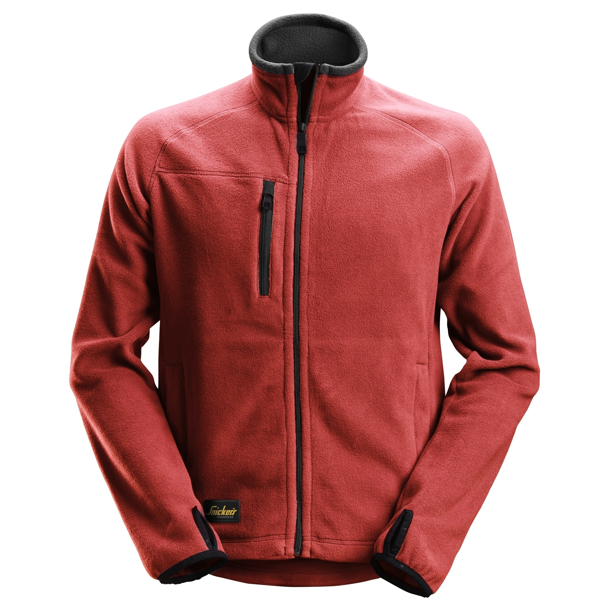 Snickers Mens Polartech Fleece Jacket (S) (Chilli Red)