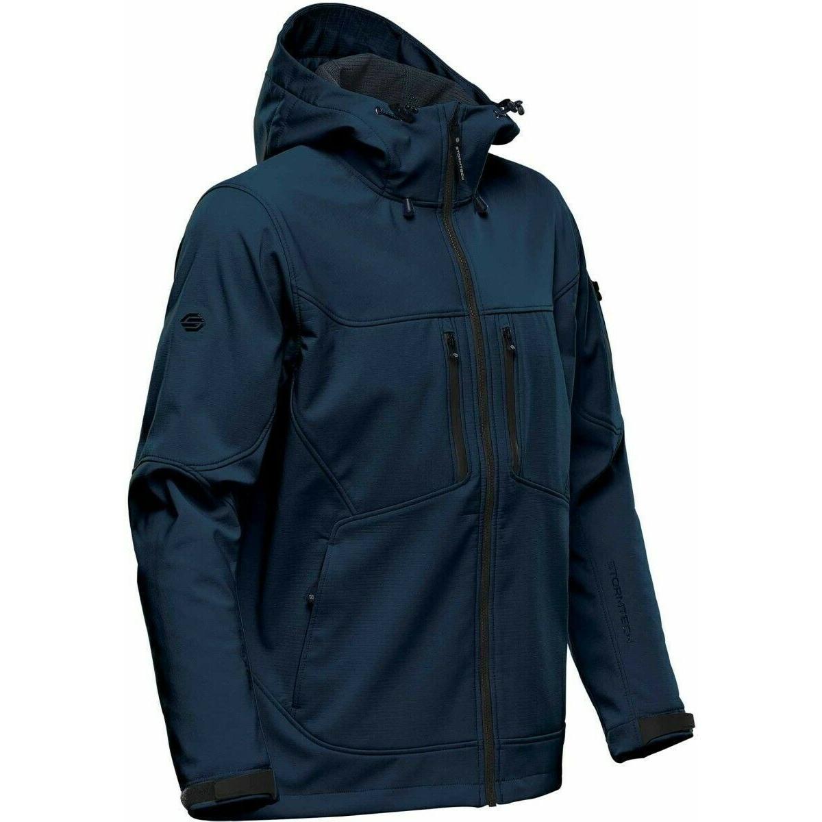 Stormtech Womens/Ladies Epsilon 2 Soft Shell Jacket (S) (Black/Graphite)