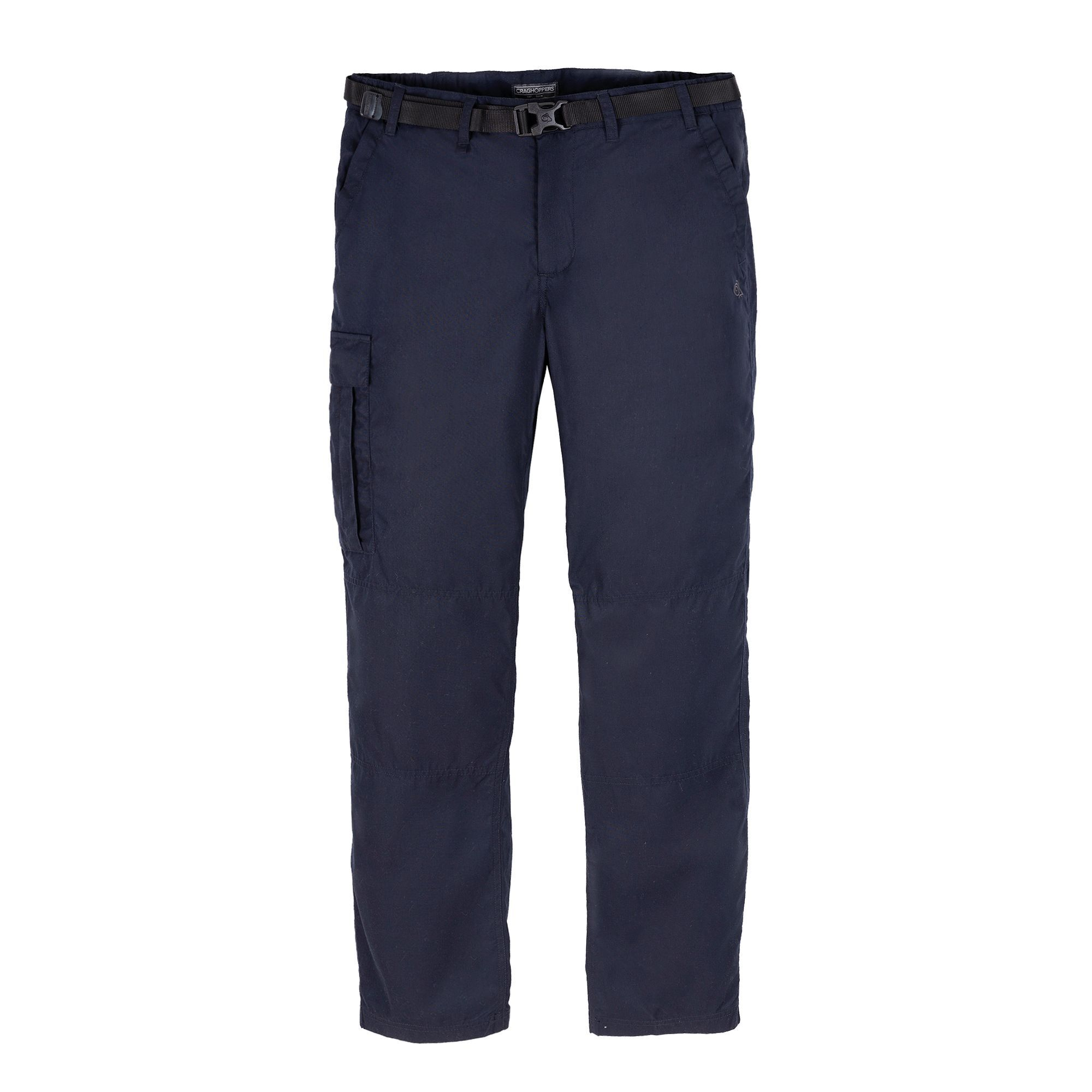 Craghoppers Mens Expert Kiwi Tailored Cargo Trousers (38R) (Dark Navy)