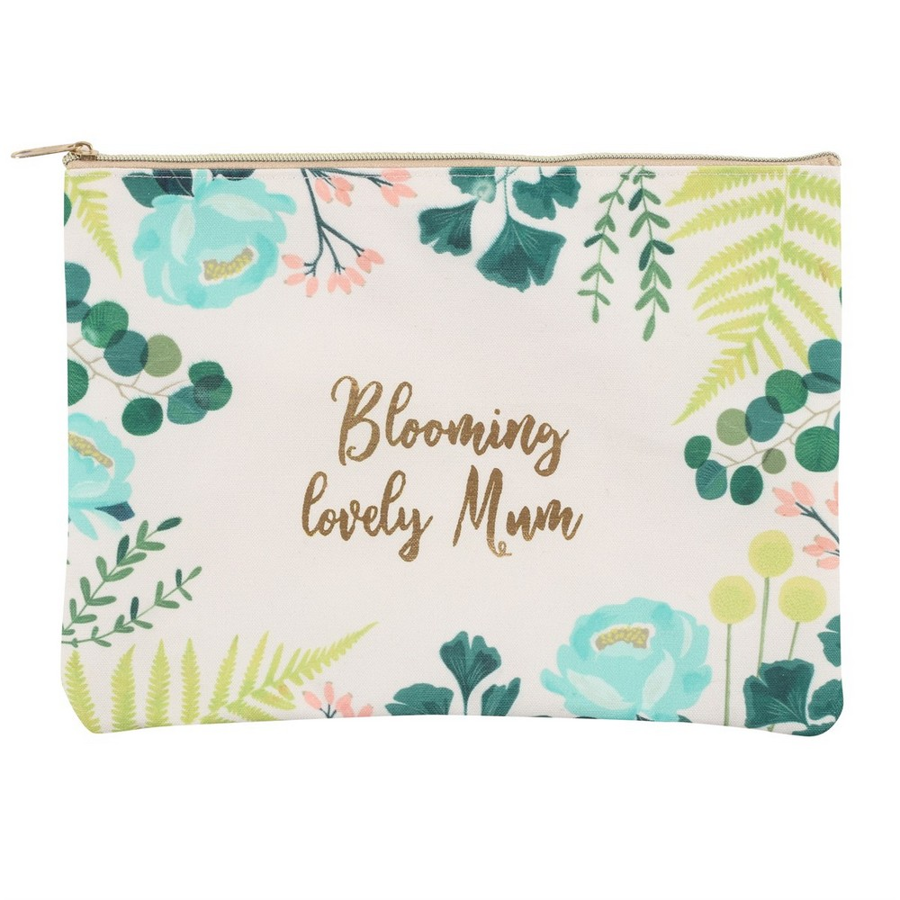 Blooming Lovely Mum Makeup Bag (One Size) (Multicoloured)