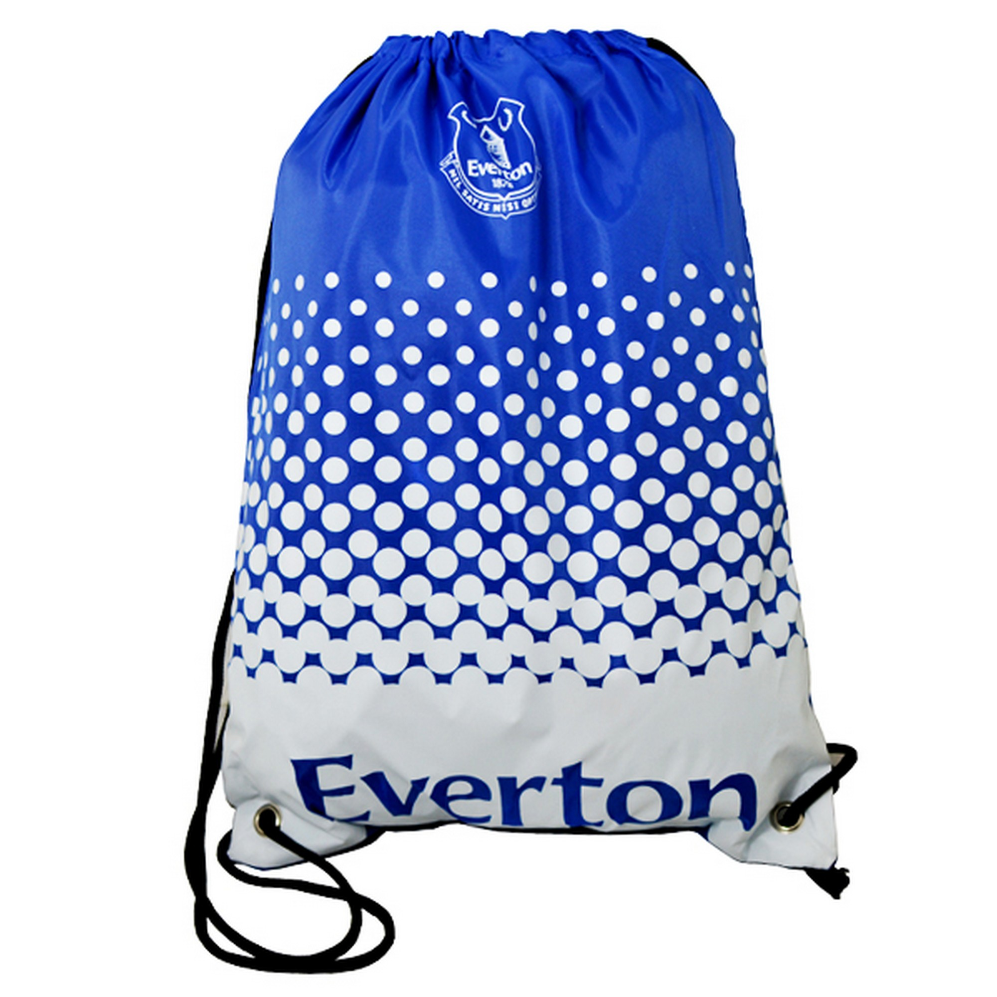 Everton FC Official Football Crest Gym Bag (One Size) (Blue/White)
