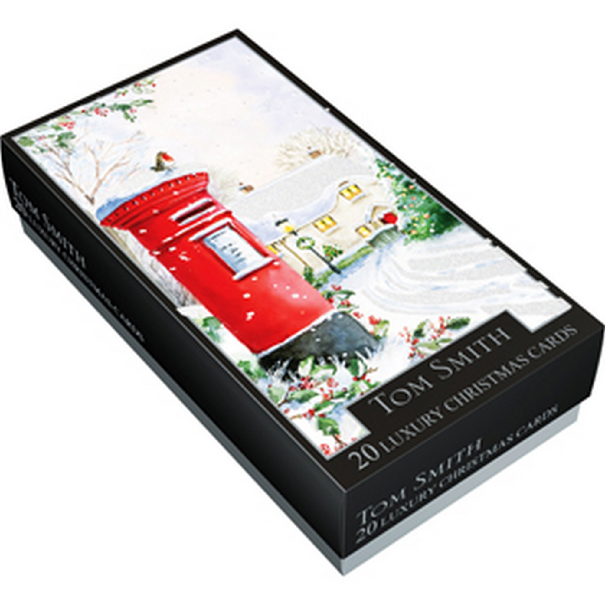 Tom Smith 20 Post Box Design Luxury Christmas Cards (SG12386 ...