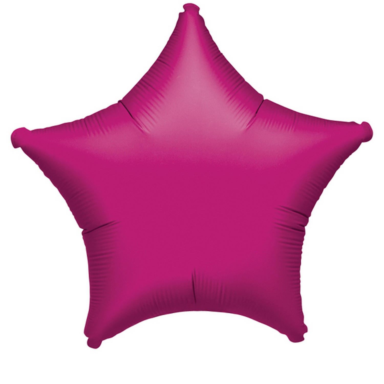 Amscan-Globo-liso-con-forma-de-estrella-de-aluminio-SG3946