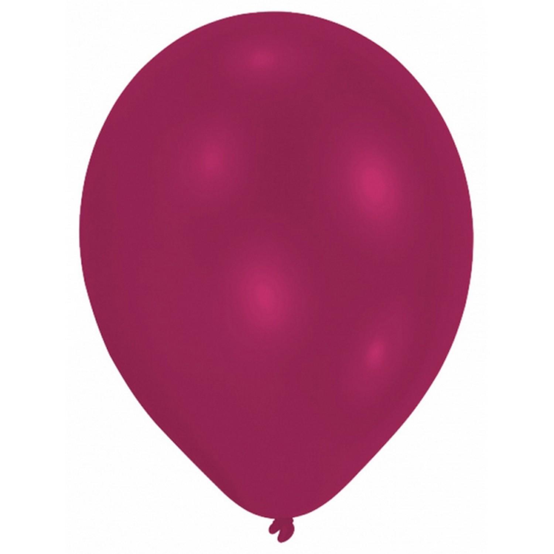 Amscan-Globos-lisos-para-fiesta-Paquete-de-10-10-colores-SG3996