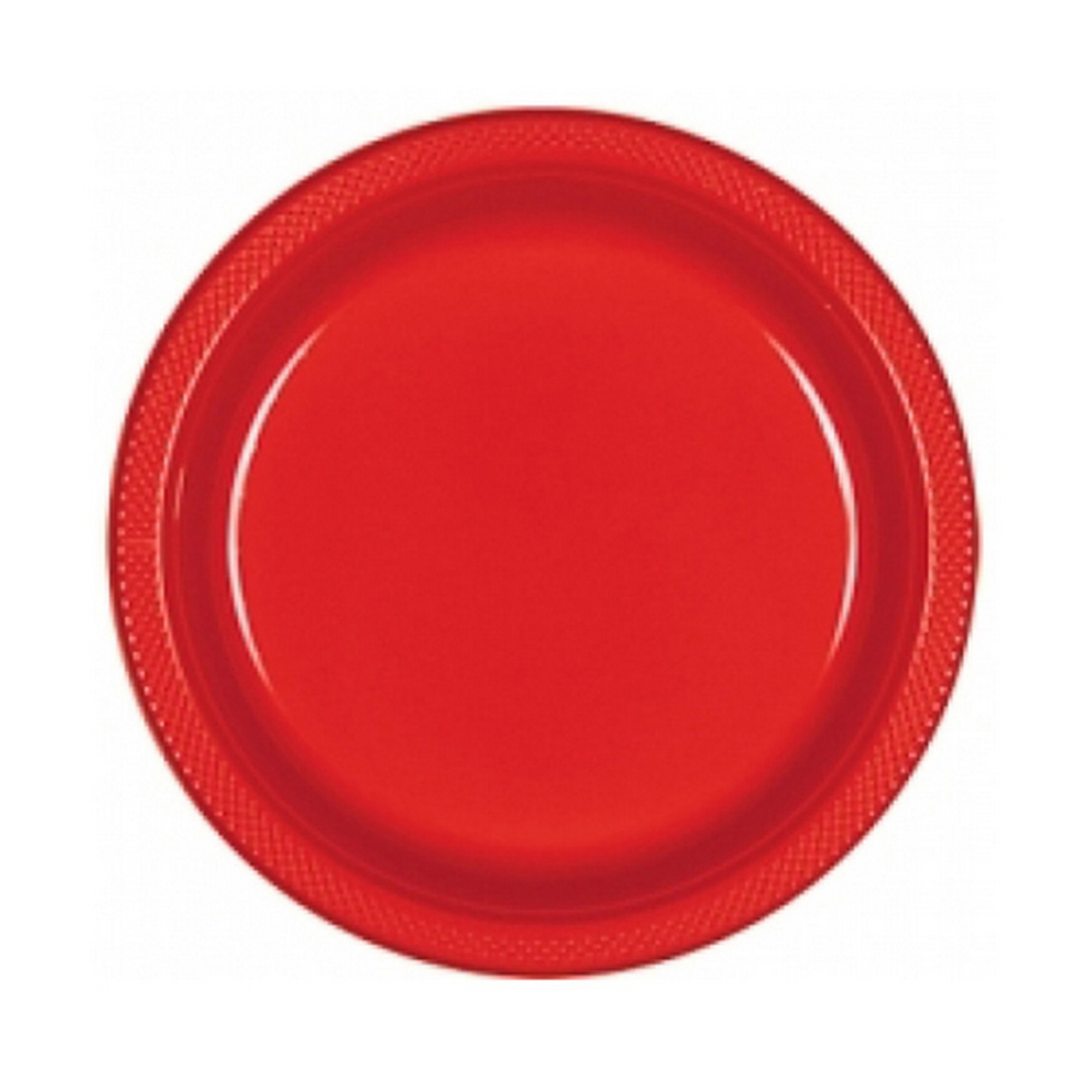 Amscan Plastic Block Color Plastic Plates (Pack Of 20) (SG5905) | eBay