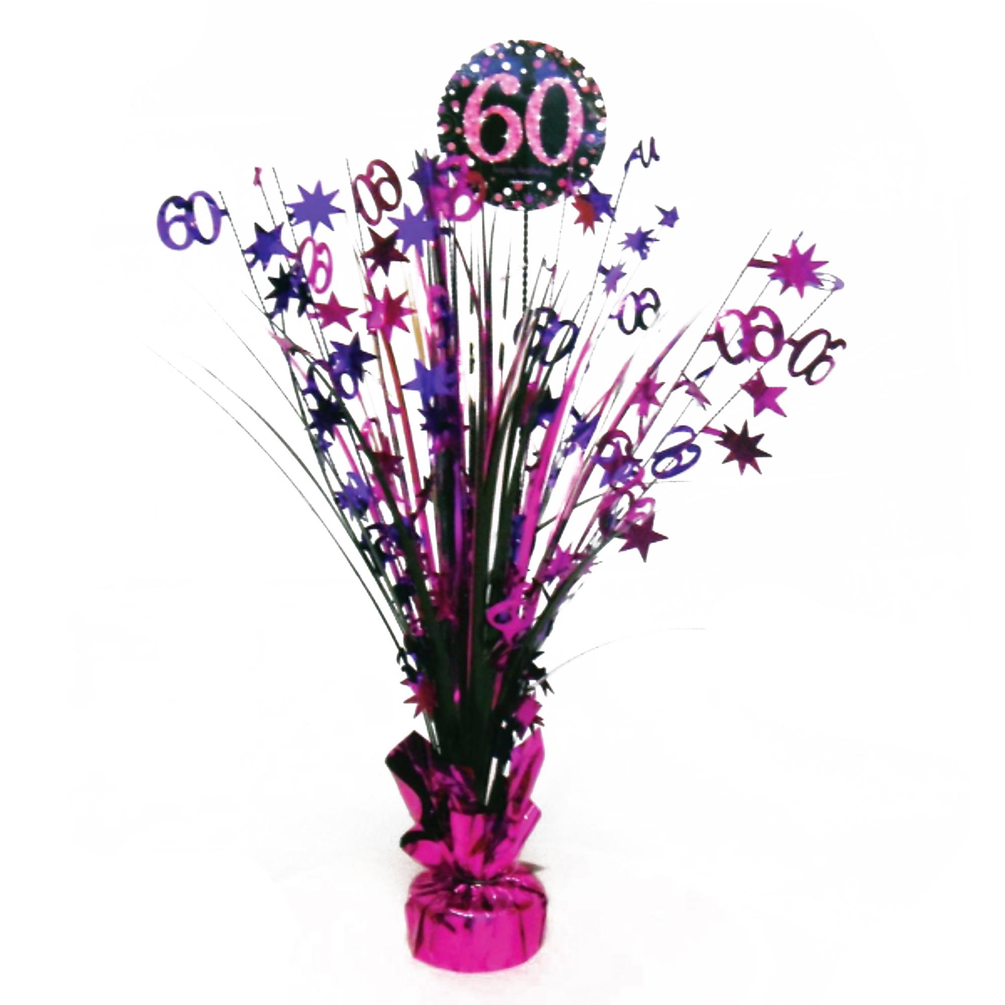 Guirnalda decorativa Amscan para celebraci/ón de 60/° cumplea/ños