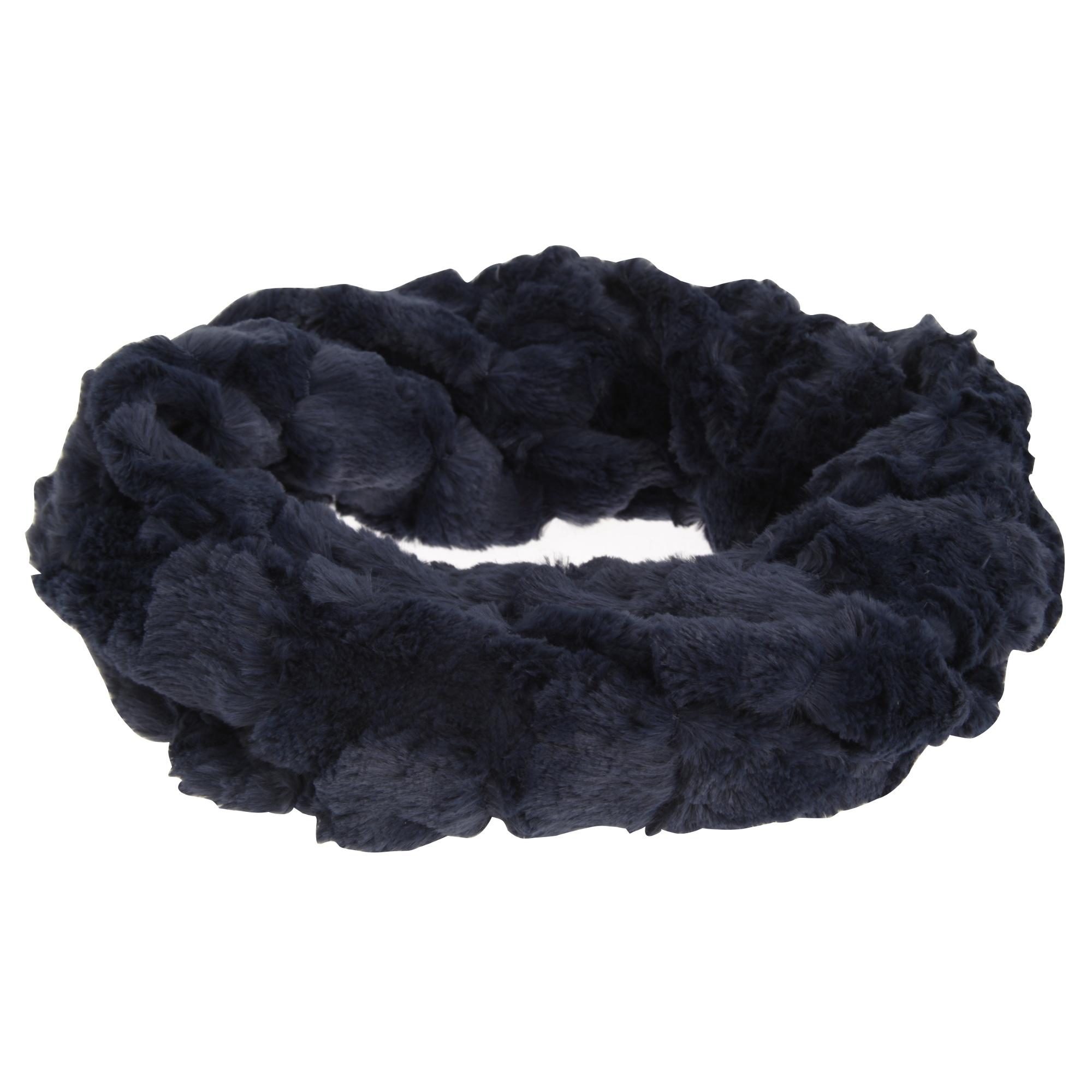 Foxbury Womens/Ladies Faux Fur Snood (One Size) (Navy)