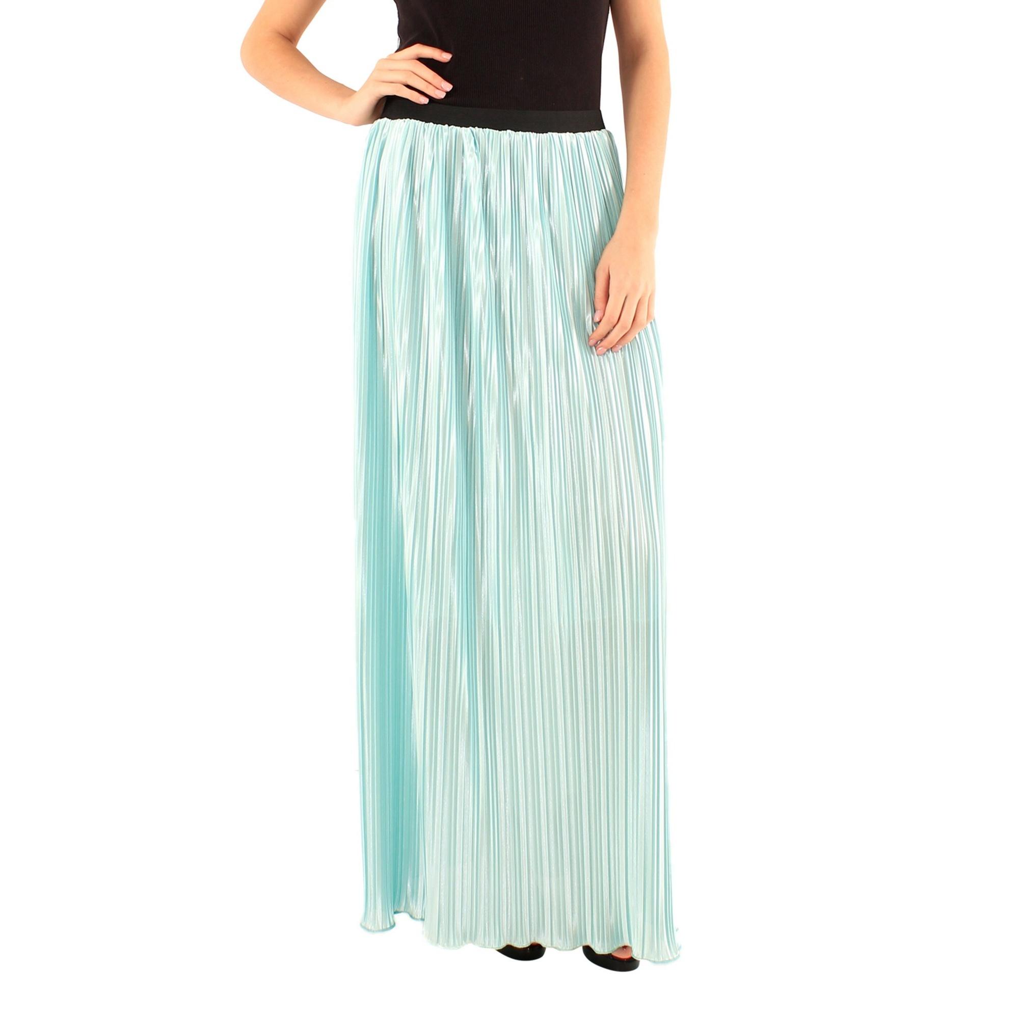 Lili London Womens/Ladies Amalia Pleated Maxi Skirt (M/L) (Mint Green)