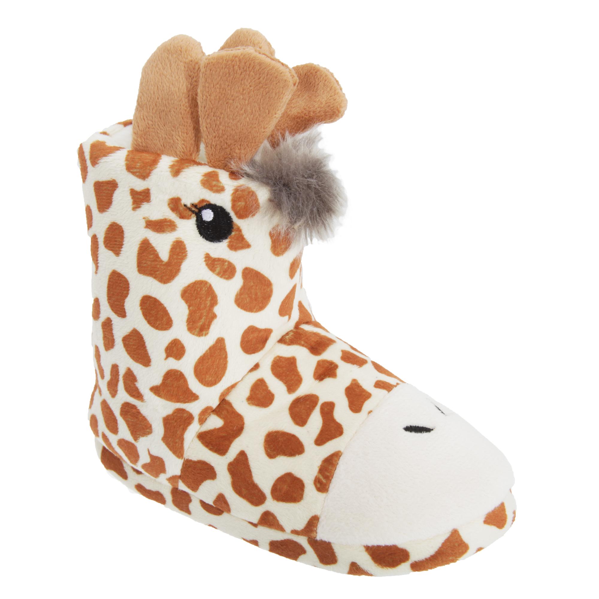 Childrens/Kids 3D Diseño Animal Zapatillas De Arranque