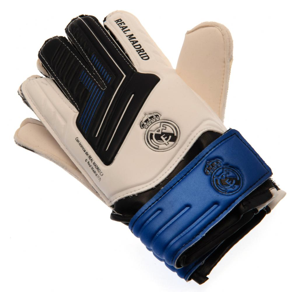 Real Madrid FC Kids Goalkeeper Gloves