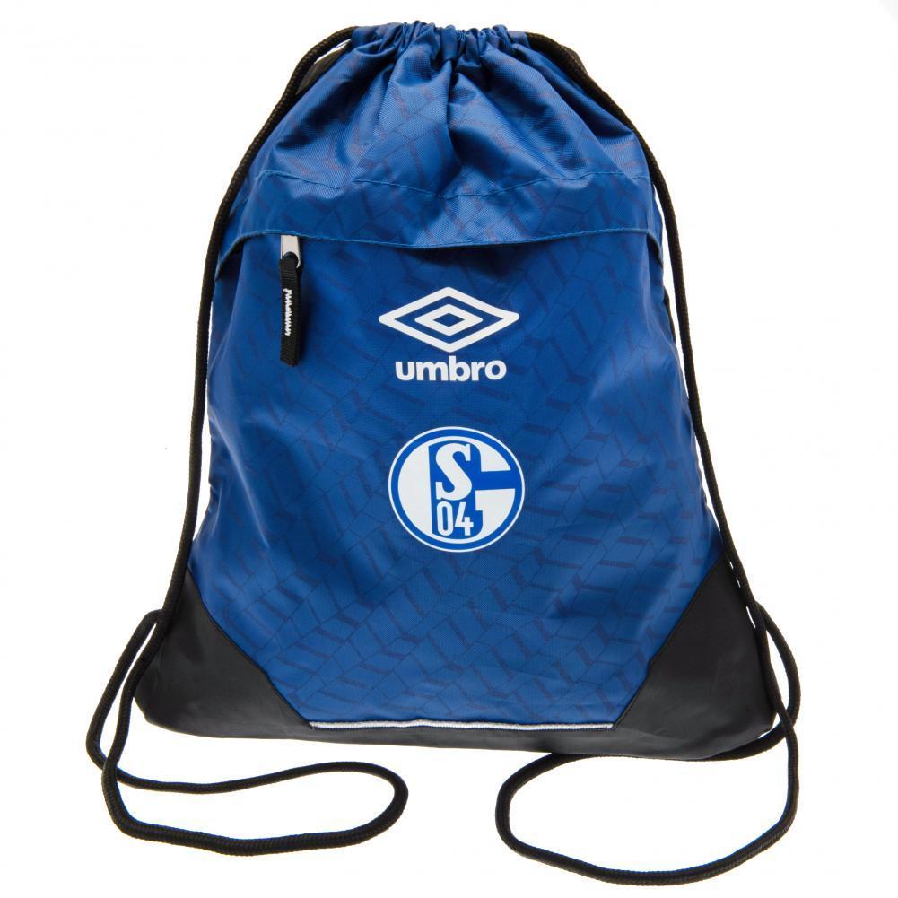 FC Schalke Umbro Gym Bag (One Size) (Blue)