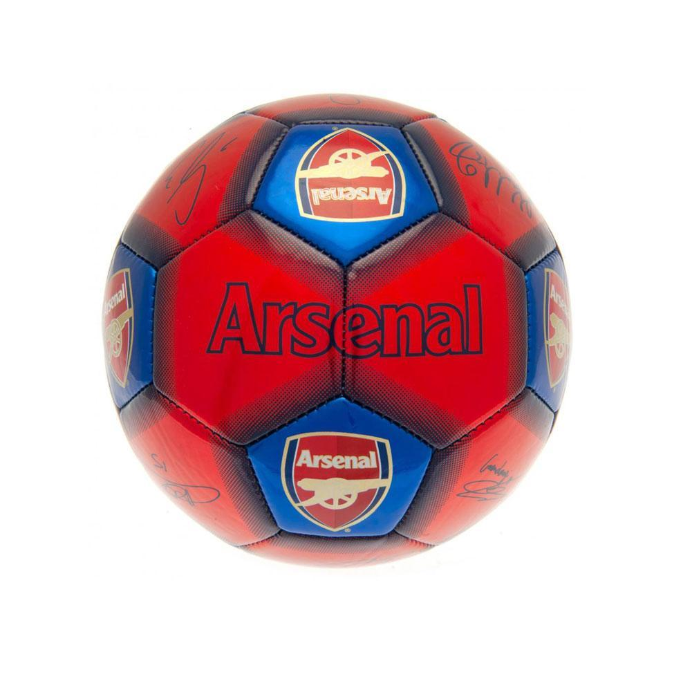 Arsenal FC Signed Ball (Size 1) (Red)