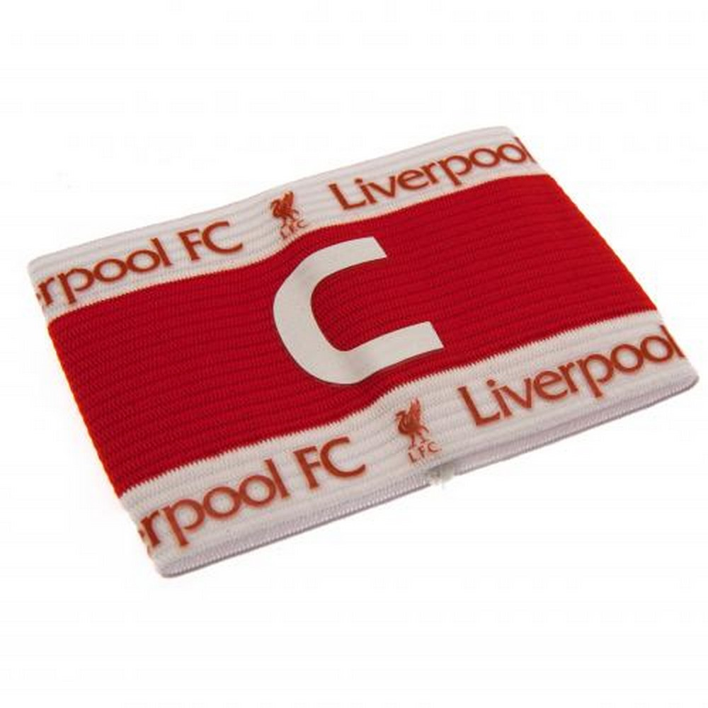 Liverpool FC Official Brazalete de capit/án de equipo con escudo