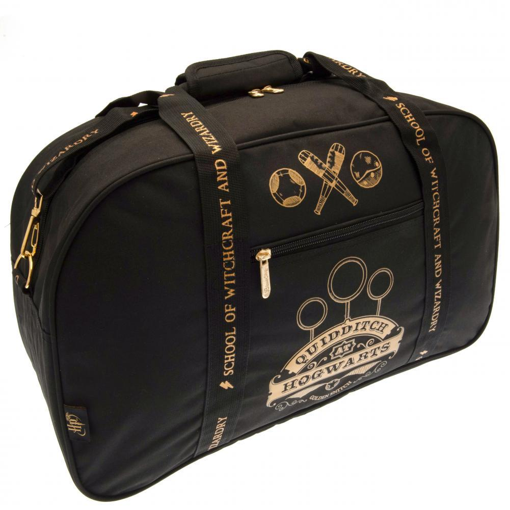 Harry Potter Quidditch Holdall (One Size) (Black)