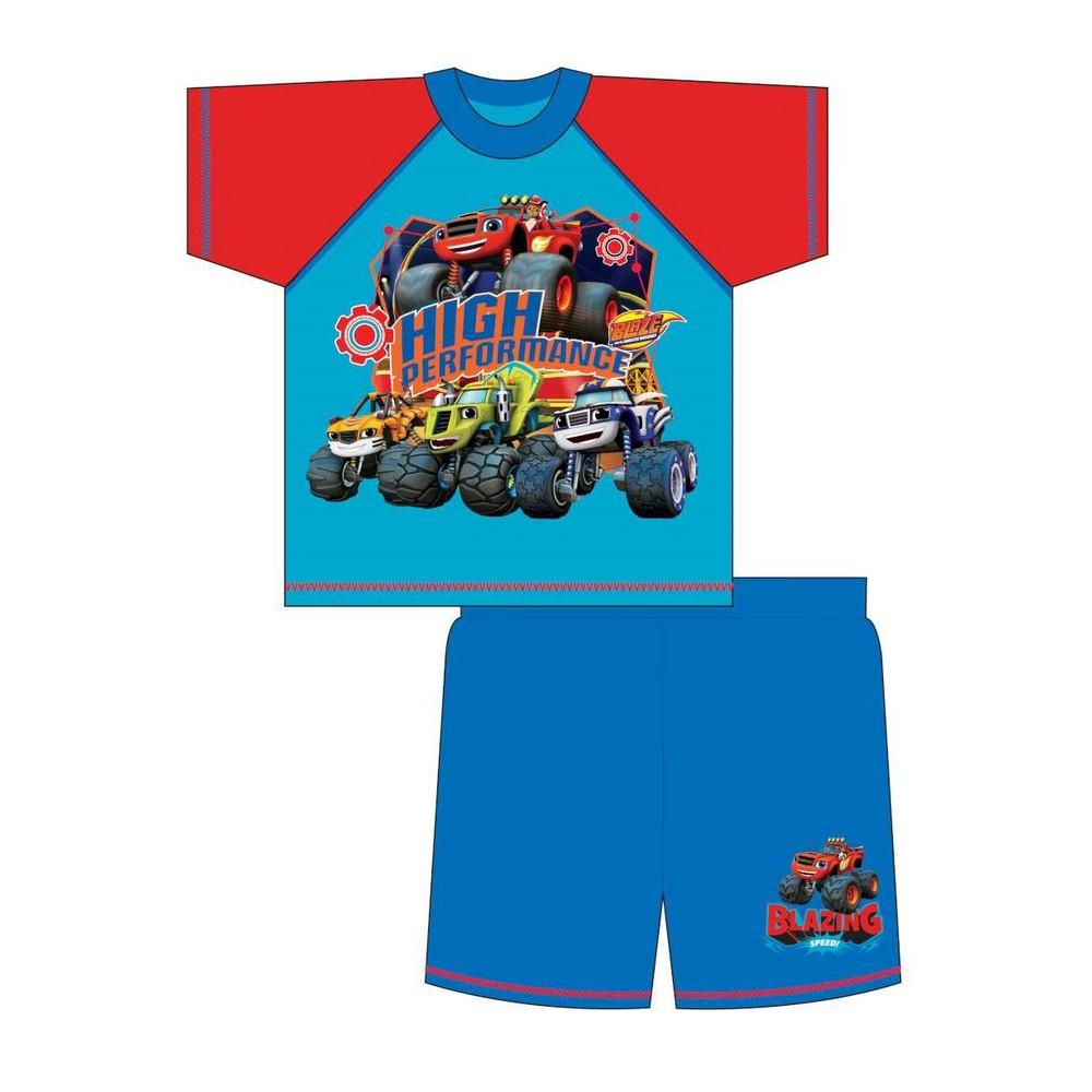 Blaze-amp-The-Monster-Machines-Pijama-corto-infantil-TF459