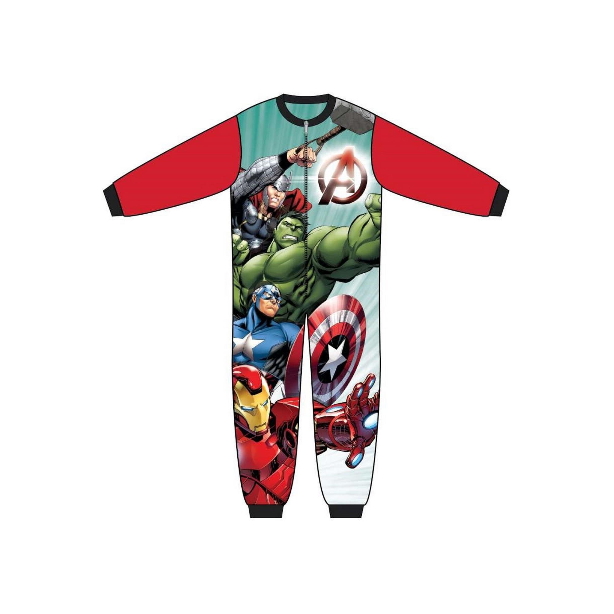 Marvel-Avengers-Pijama-infantil-de-una-pieza-con-los-Vengadores-TF463